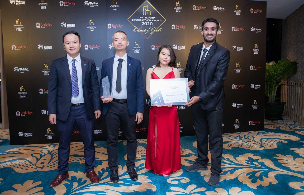 Hoozing chiến thắng giải thưởng công nghệ bất động sản Đông Nam Á