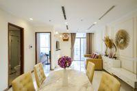 Cho Thuê Căn hộ 1 PN Vinhomes Central Park - Phòng Ngủ Đón Nắng