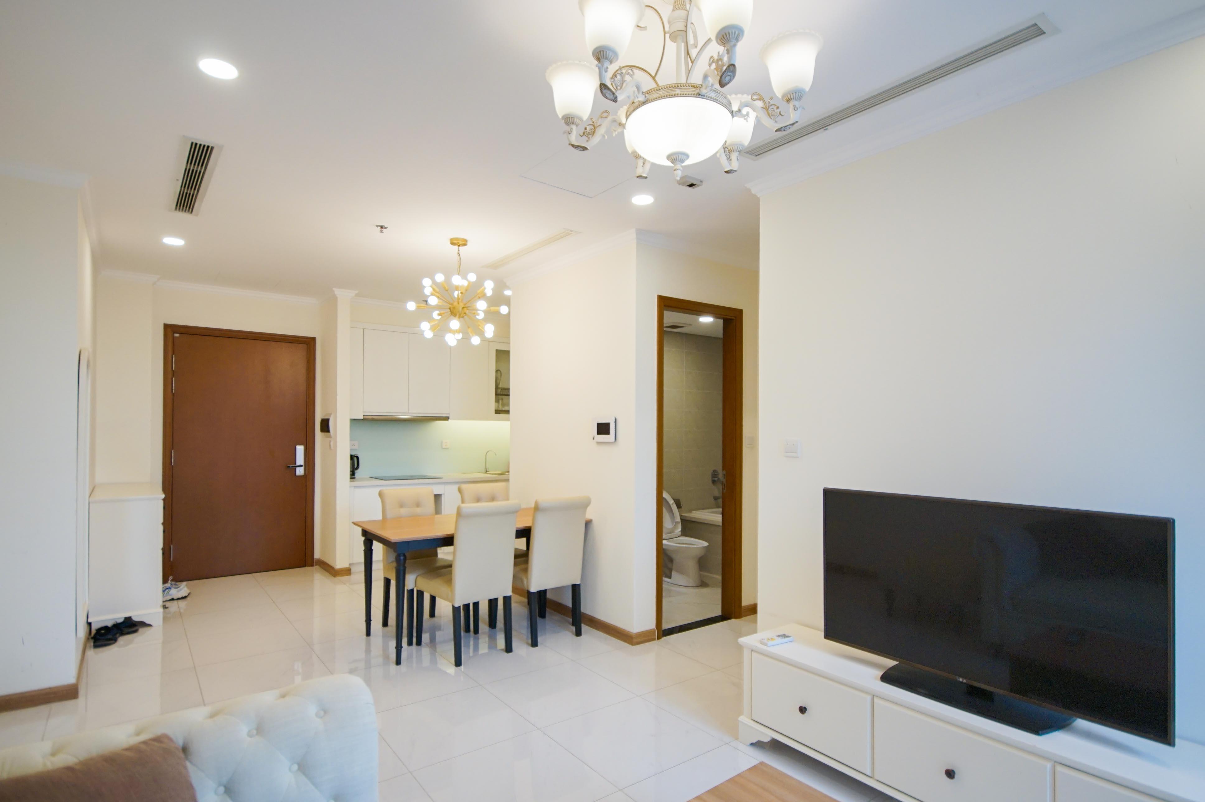 Cho Thuê Office-tel 1 PN Vinhomes Central Park - Full Nội Thất Cao Cấp -7