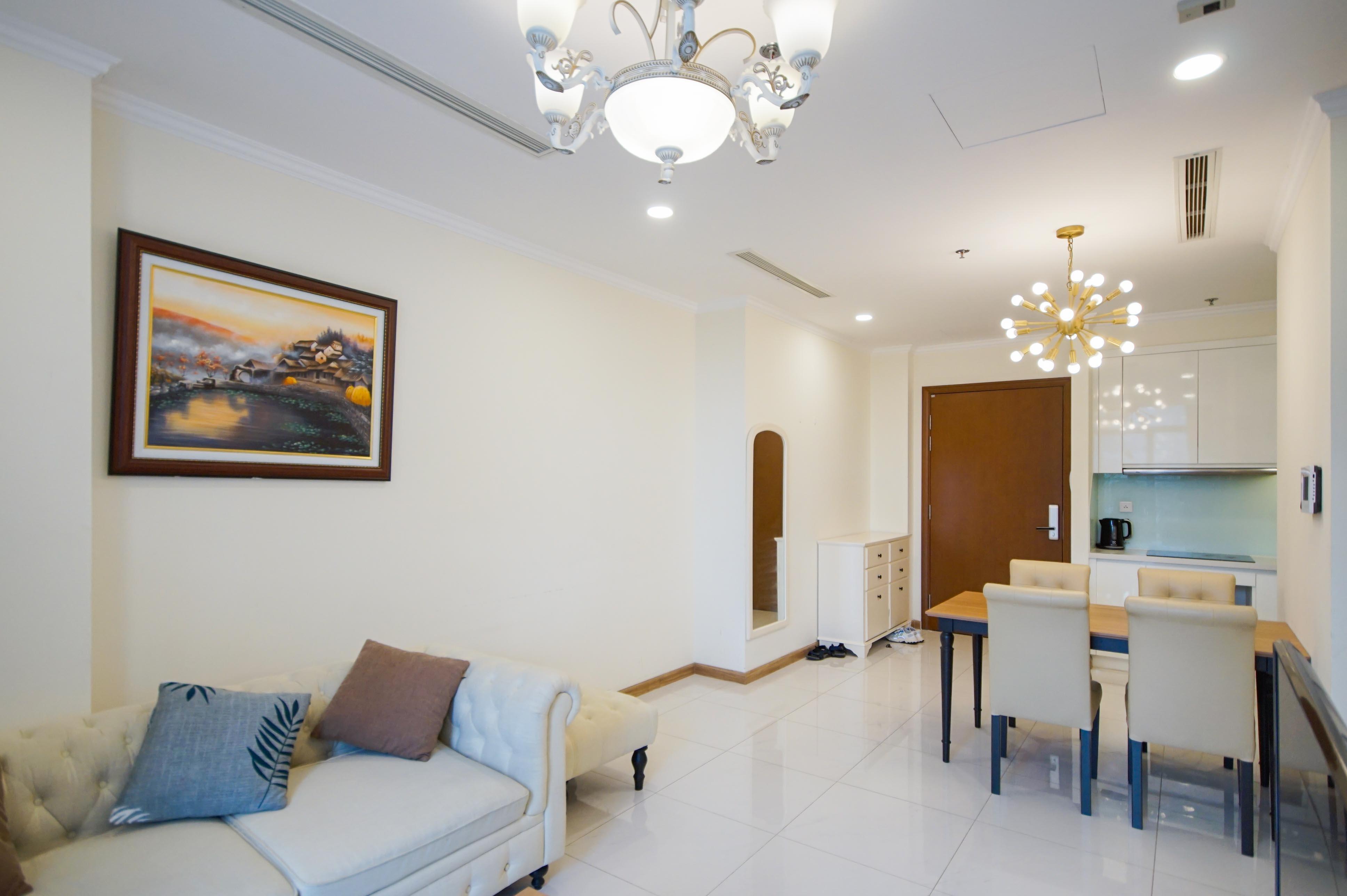 Cho Thuê Office-tel 1 PN Vinhomes Central Park - Full Nội Thất Cao Cấp -8
