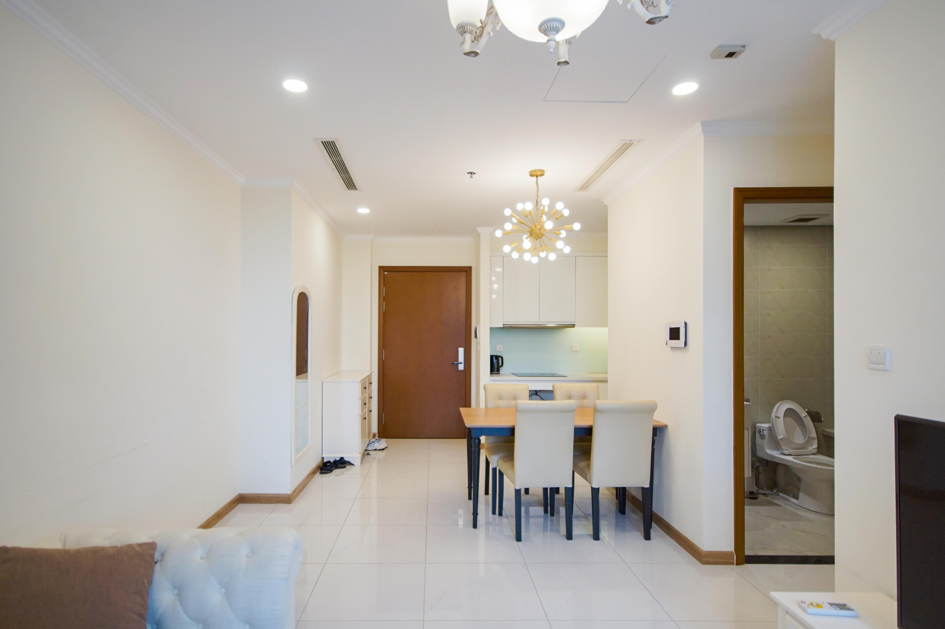 Cho Thuê Office-tel 1 PN Vinhomes Central Park - Full Nội Thất Cao Cấp -6