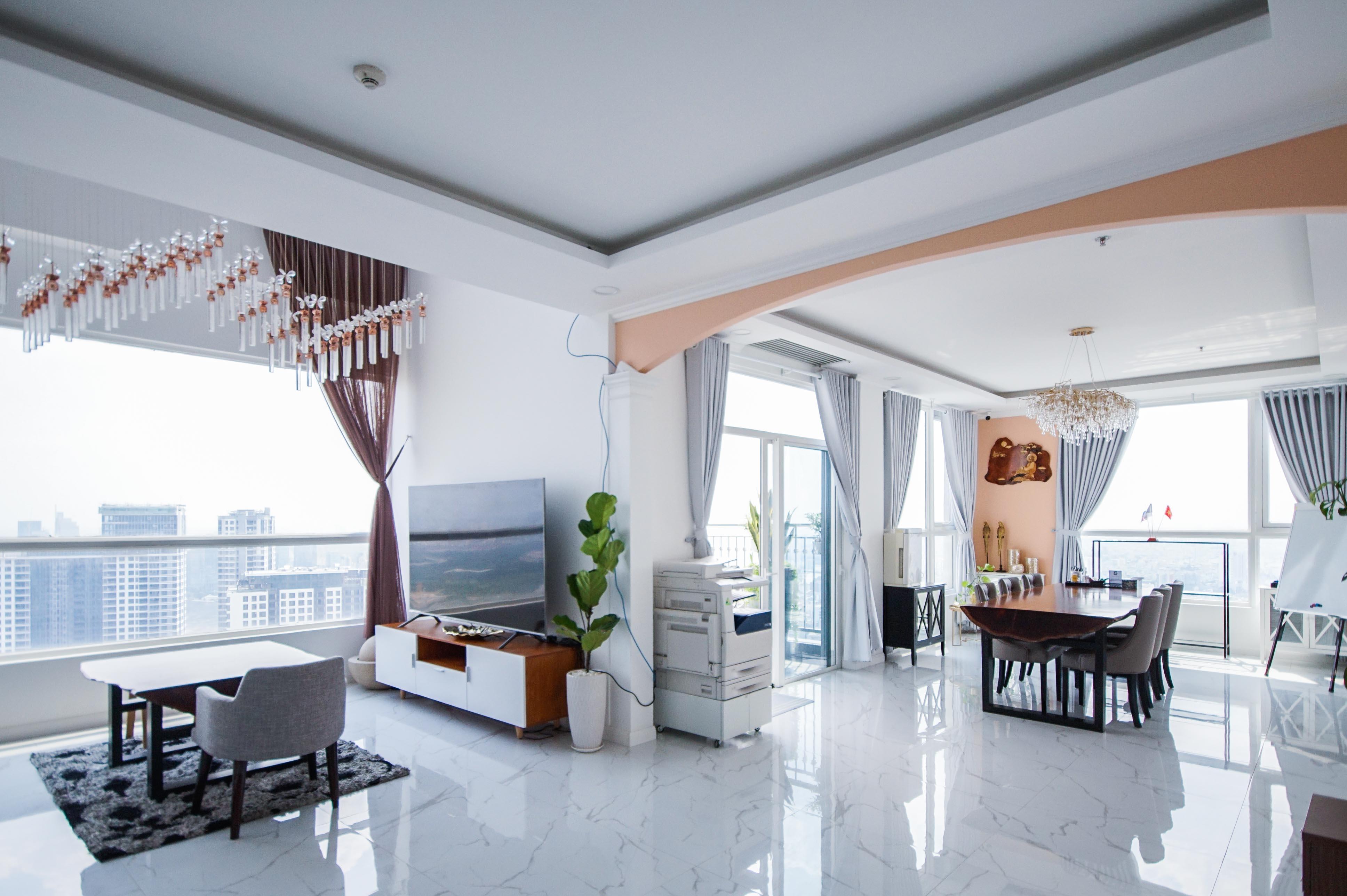 Cho Thuê Căn hộ Duplex Penthouse 3 PN Vinhomes Central Park - Đầy Đủ Nội Thất & Cuốn Hút -1