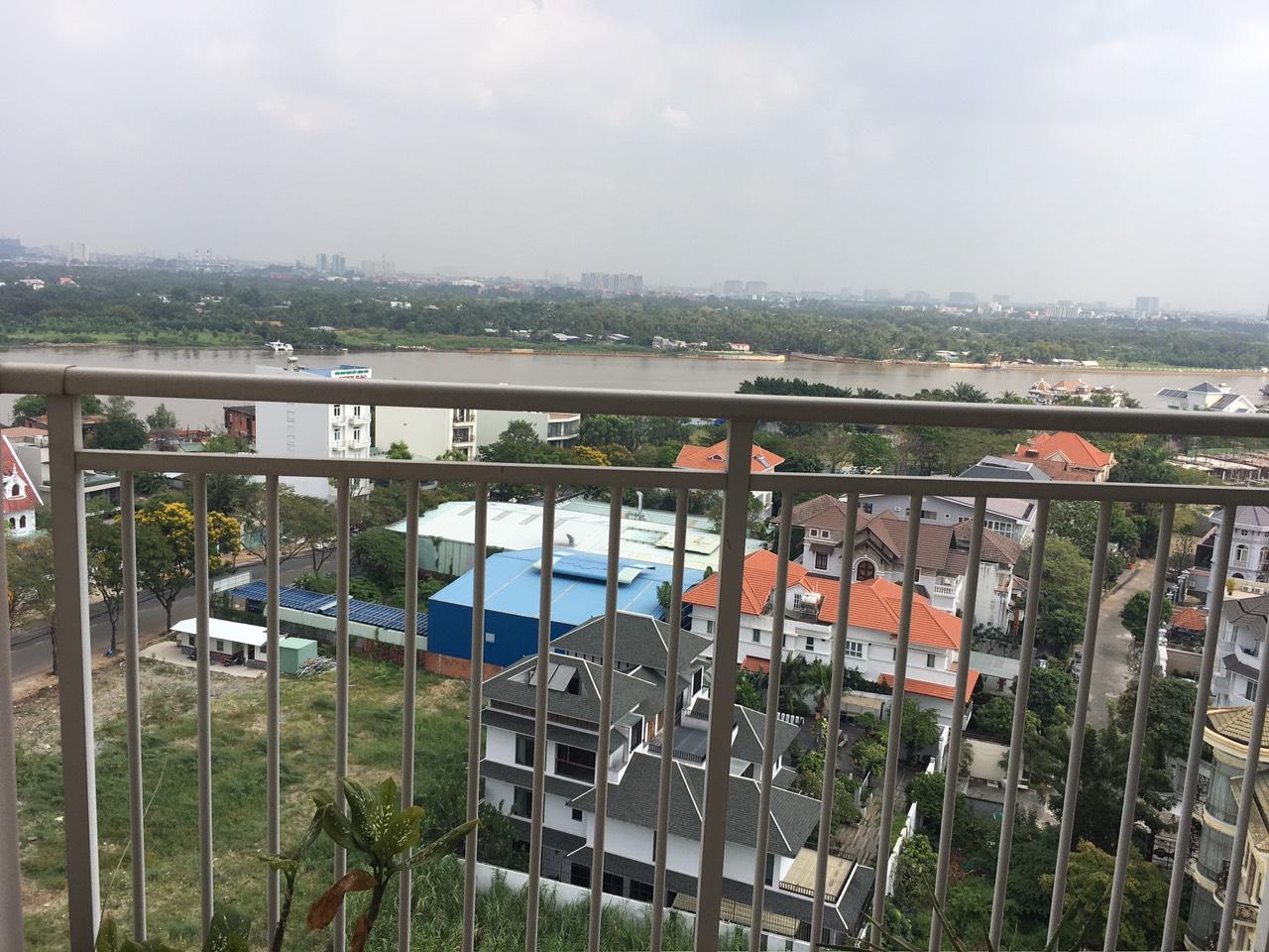 Cho Thuê Căn hộ 3 PN Xi Riverview Palace - Phòng Khách Có View Sông Siêu Đẹp -11