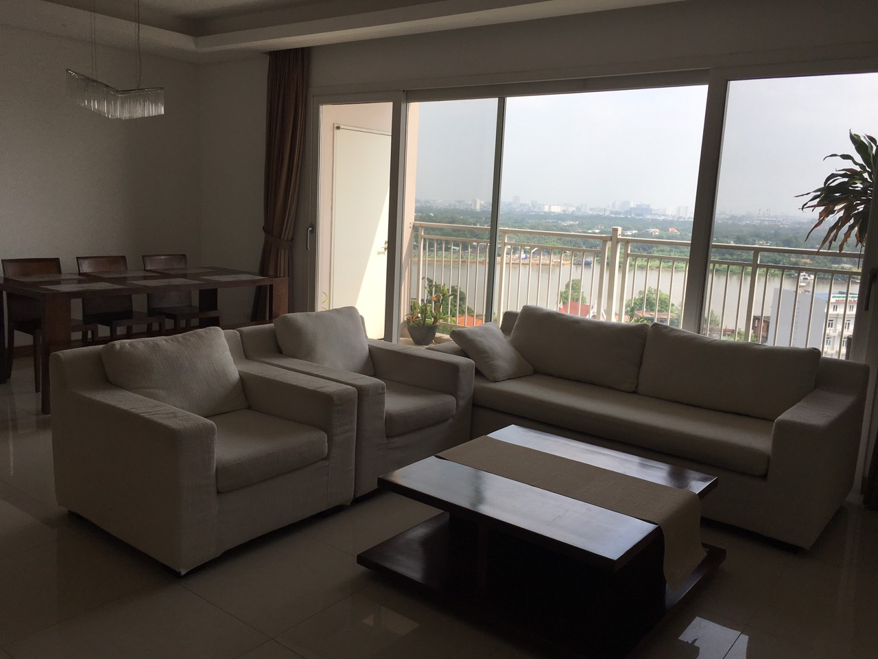 Cho Thuê Căn hộ 3 PN Xi Riverview Palace - Phòng Khách Có View Sông Siêu Đẹp -0