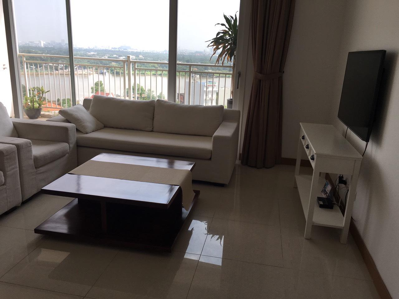 Cho Thuê Căn hộ 3 PN Xi Riverview Palace - Phòng Khách Có View Sông Siêu Đẹp -5