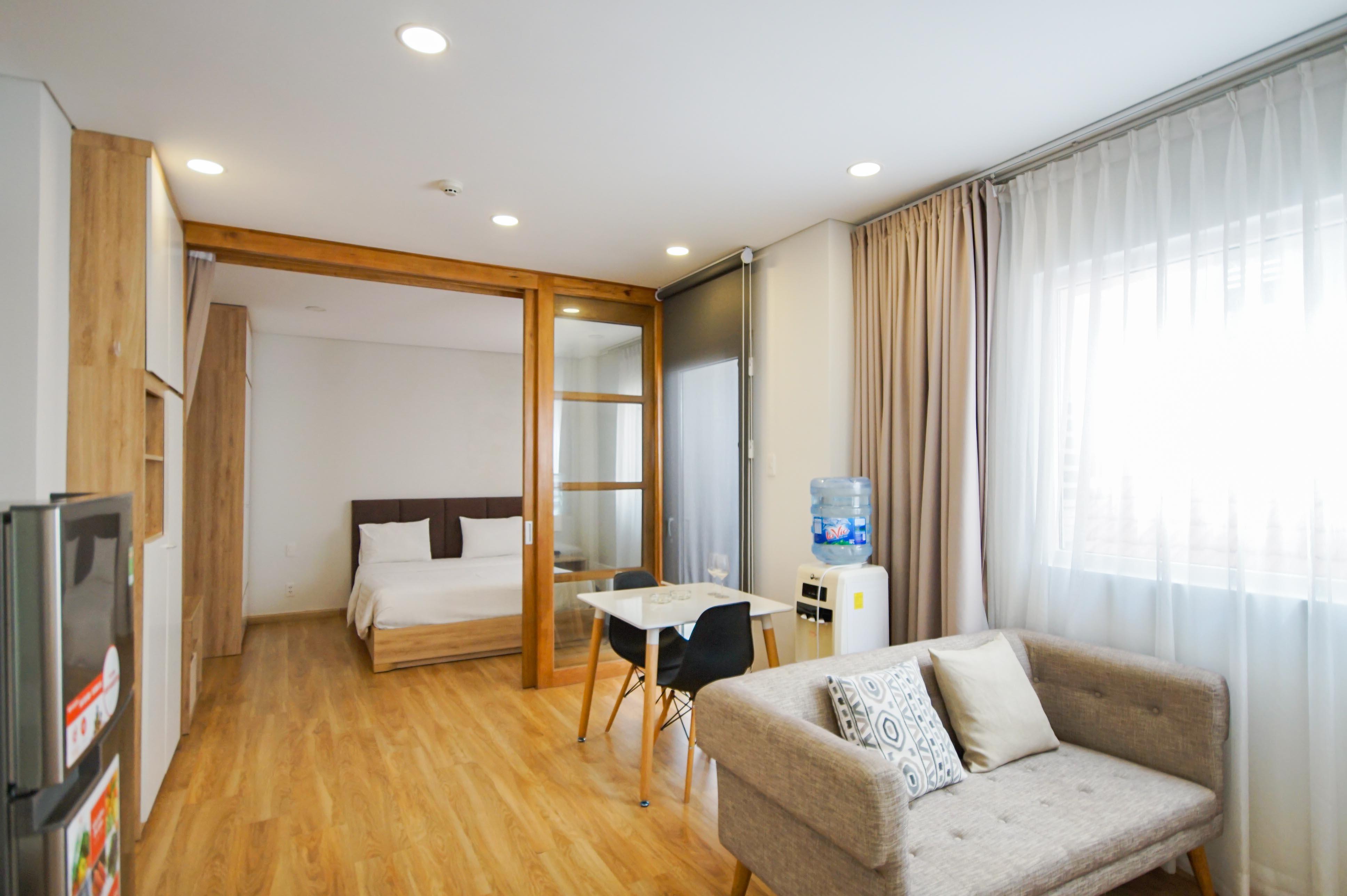 Cho Thuê Duplex 1 PN Maple Leaf Serviced Apartment - Đầy Đủ Nội Thất & Tinh Tế -3