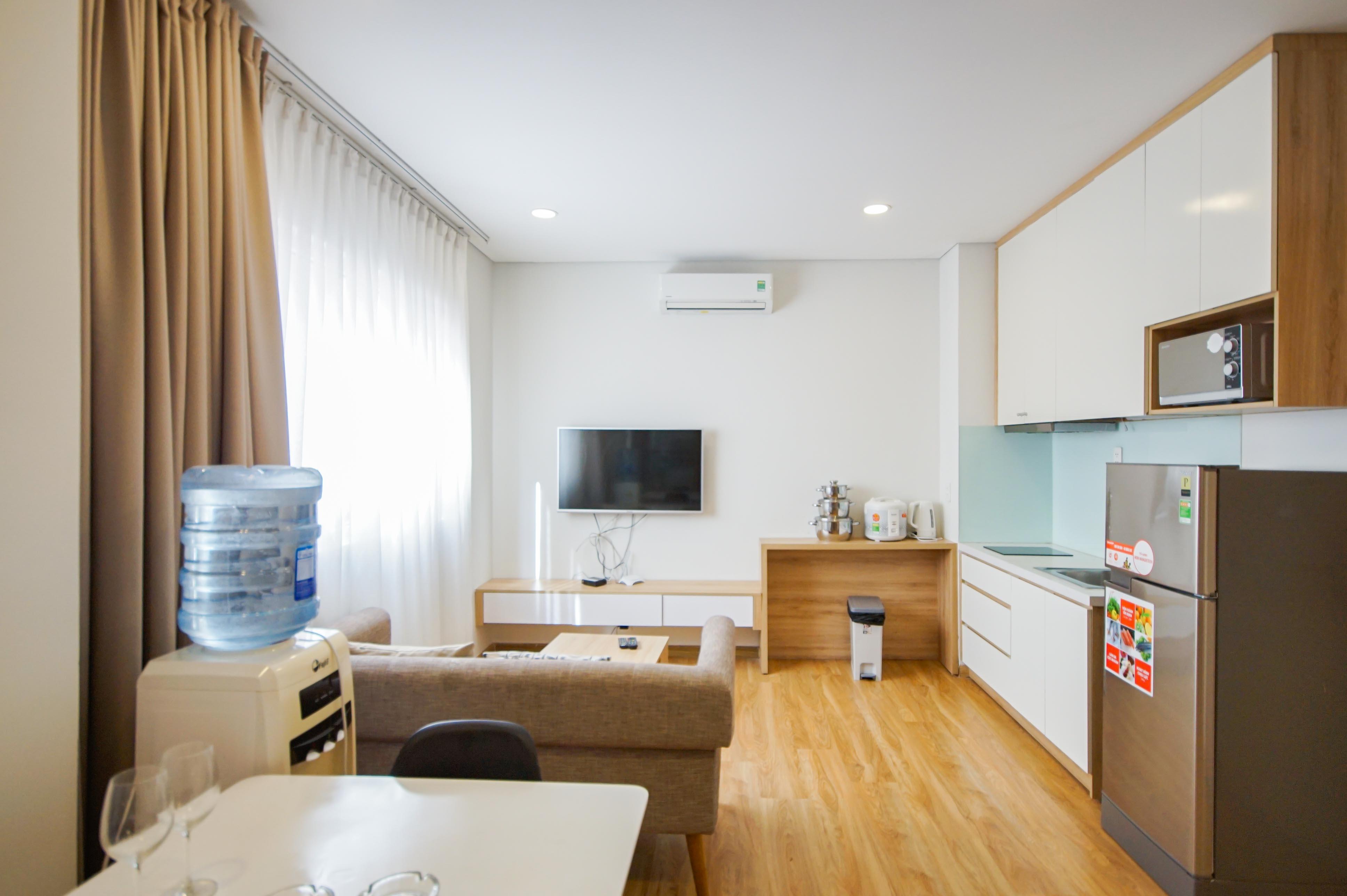 Cho Thuê Duplex 1 PN Maple Leaf Serviced Apartment - Đầy Đủ Nội Thất & Tinh Tế -0