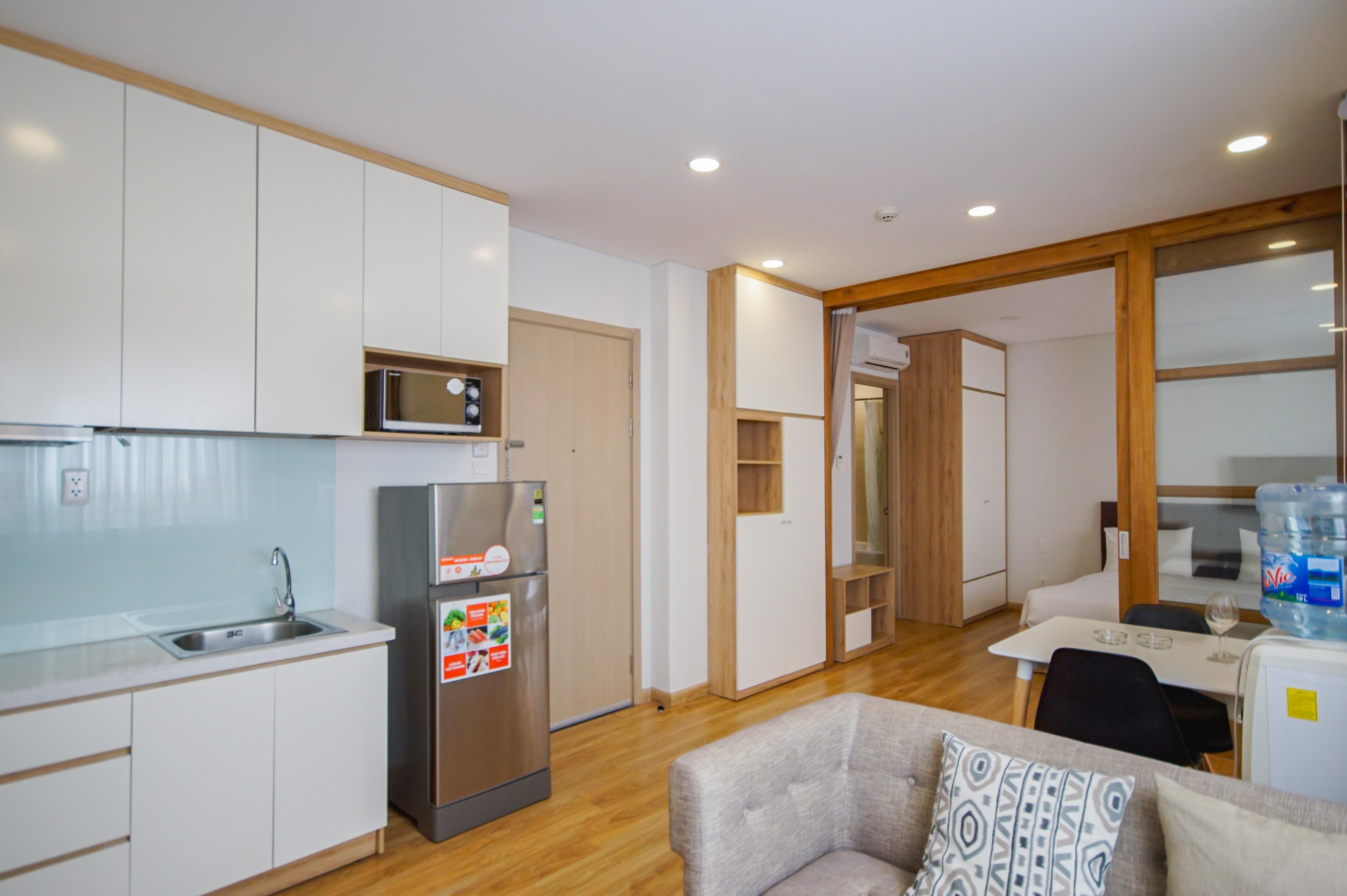 Cho Thuê Duplex 1 PN Maple Leaf Serviced Apartment - Đầy Đủ Nội Thất & Tinh Tế -4