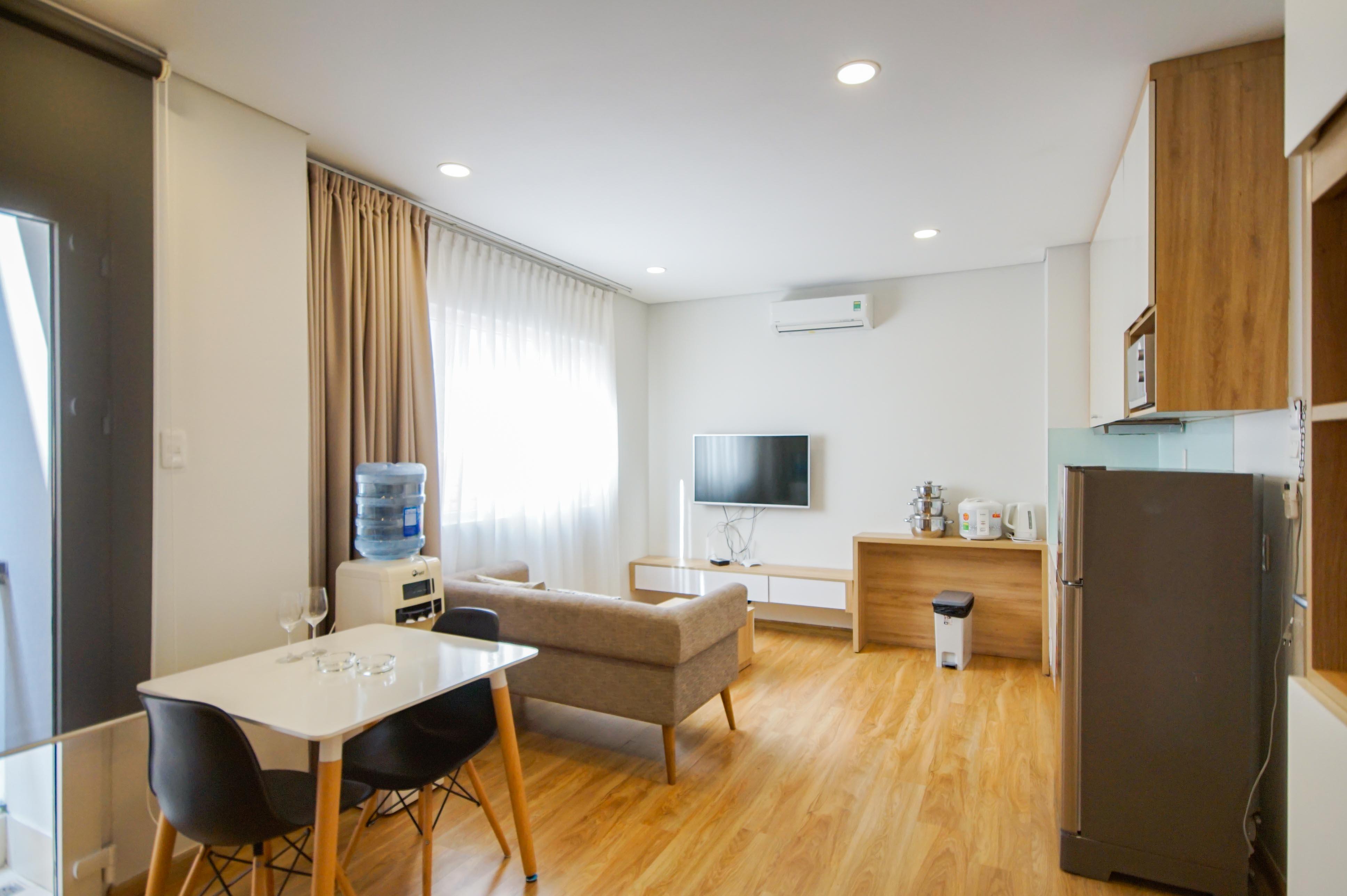 Cho Thuê Duplex 1 PN Maple Leaf Serviced Apartment - Đầy Đủ Nội Thất & Tinh Tế -1