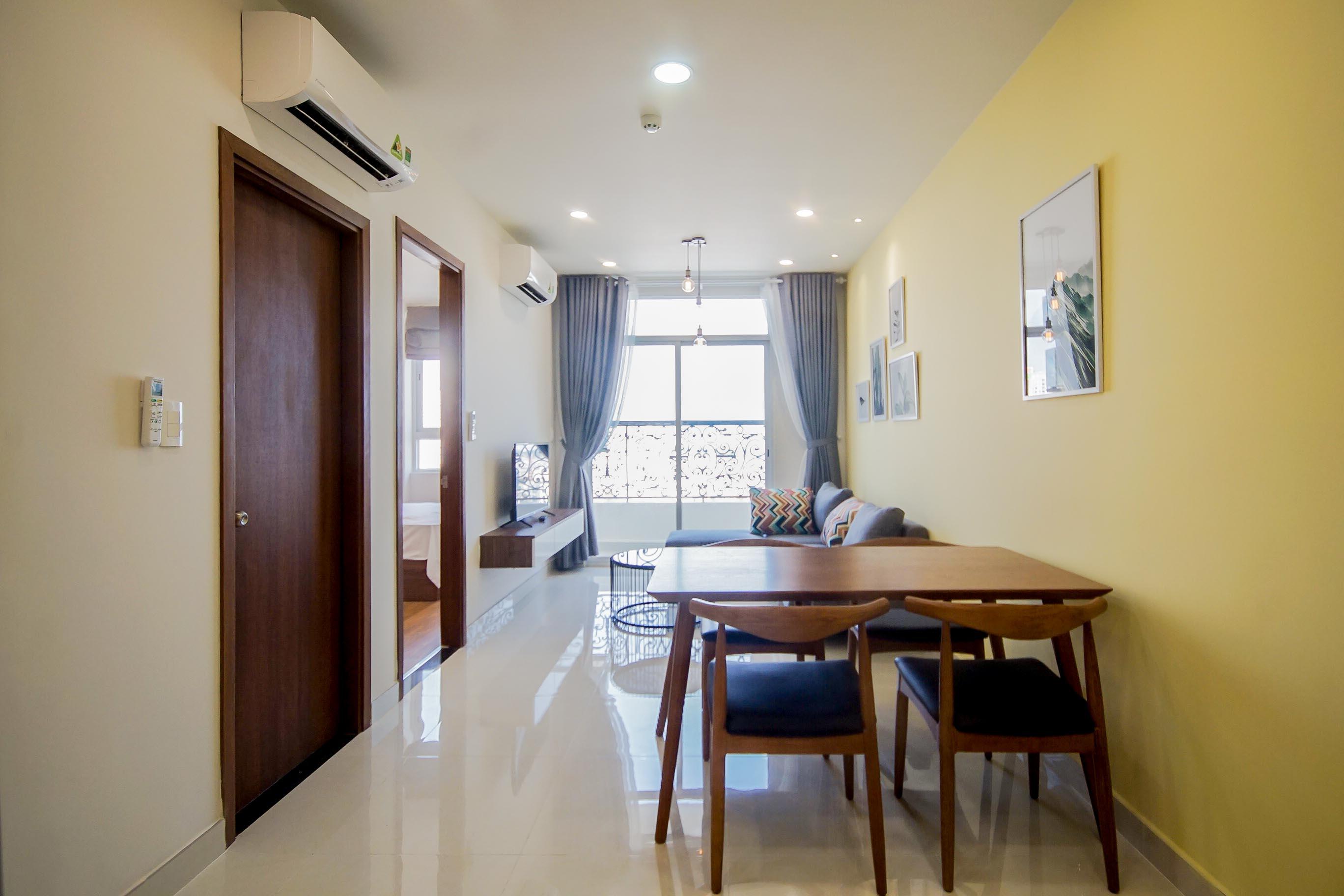Căn hộ 1 PN Grand Riverside - Đầy Đủ Nội Thất - Không gian ấm cúng và tràn ngập ánh sáng-5