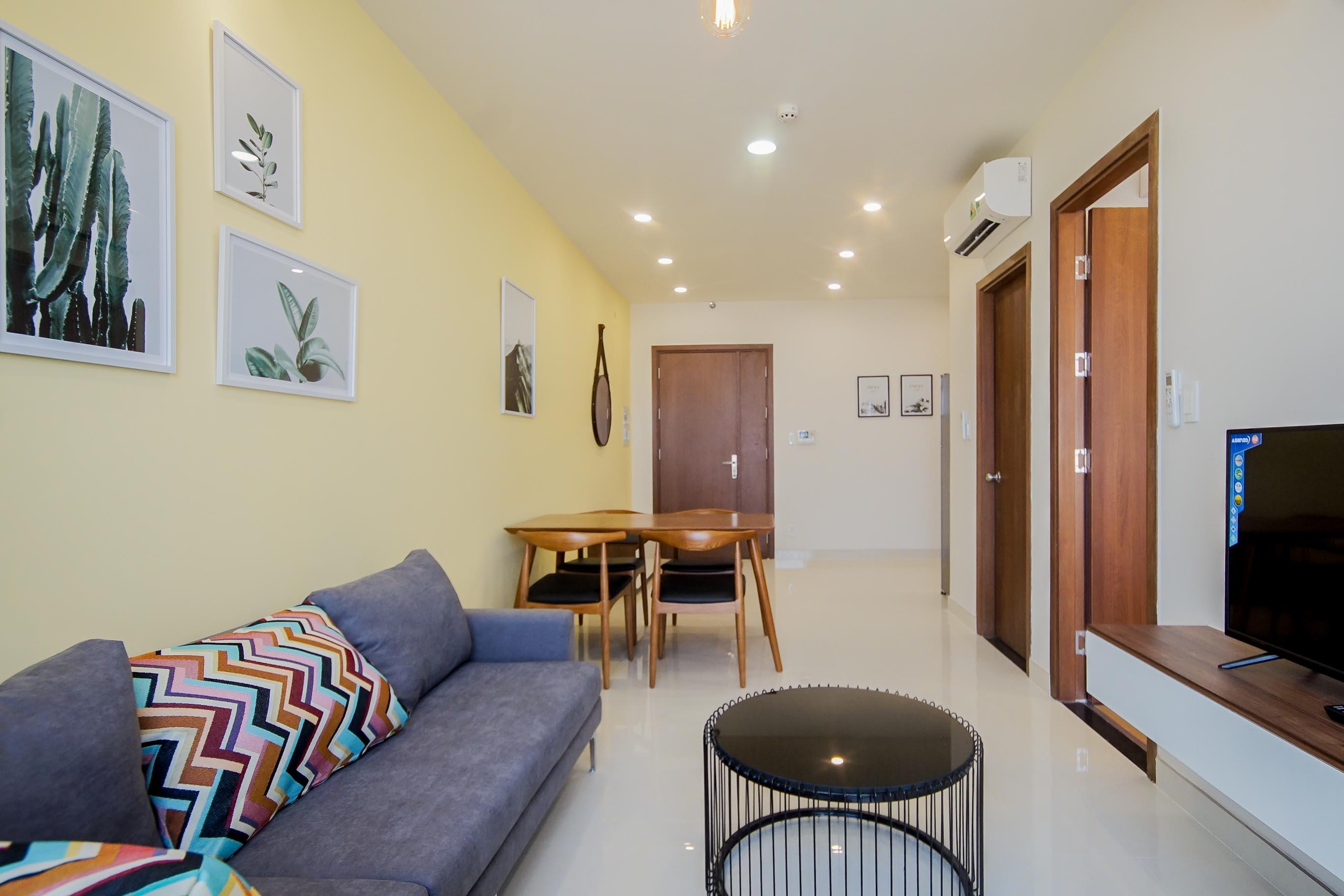 Căn hộ 1 PN Grand Riverside - Đầy Đủ Nội Thất - Không gian ấm cúng và tràn ngập ánh sáng-6
