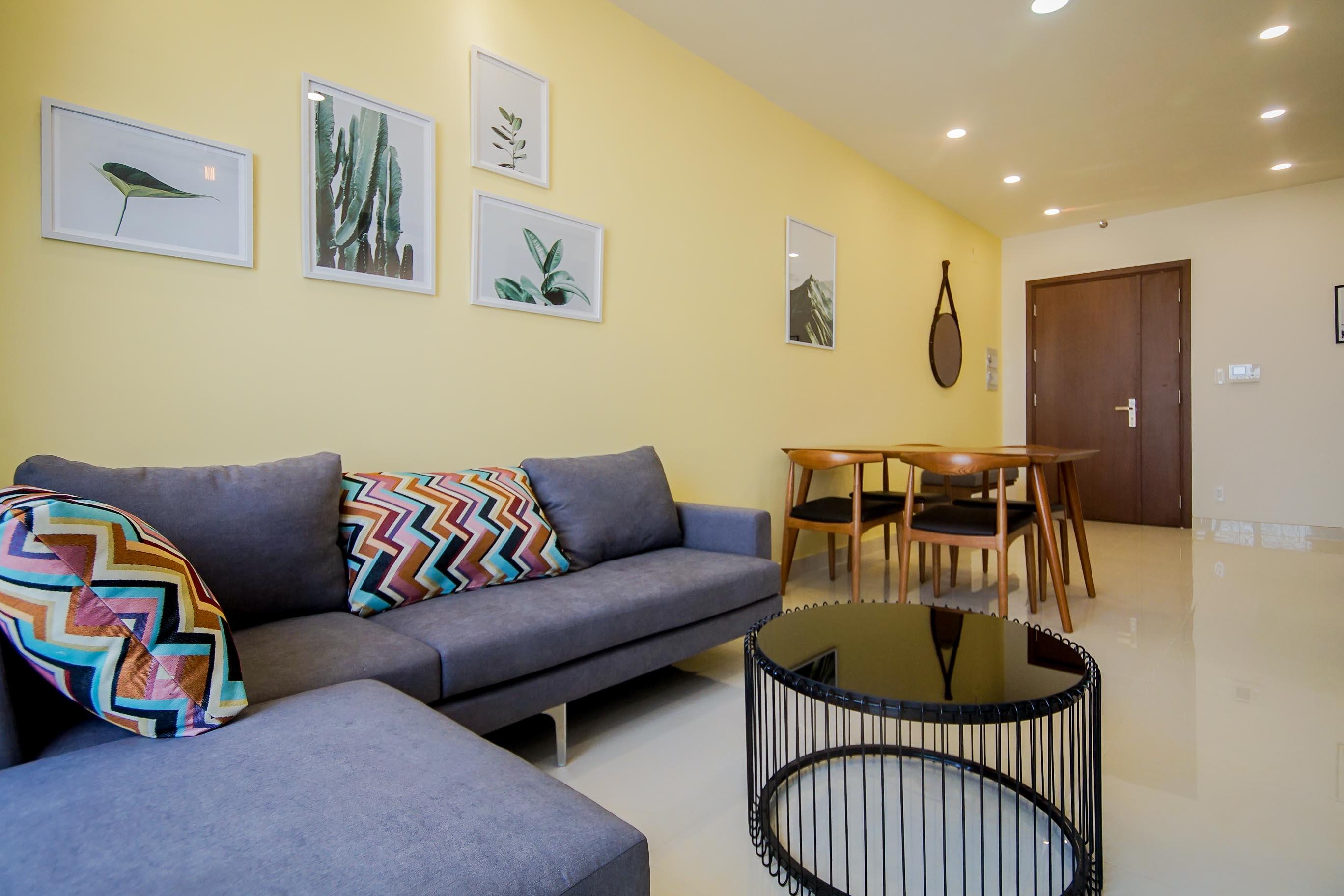 Căn hộ 1 PN Grand Riverside - Đầy Đủ Nội Thất - Không gian ấm cúng và tràn ngập ánh sáng-9
