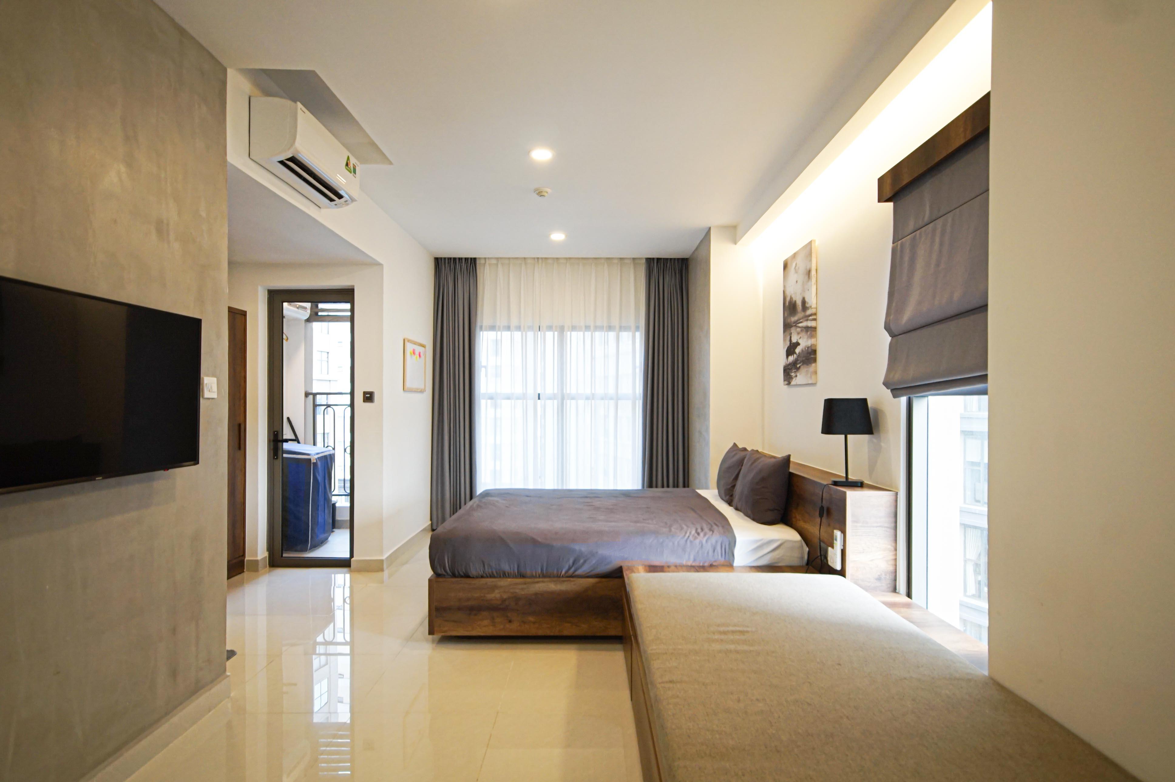 Cho Thuê Căn hộ 1 PN Saigon Royal Residence - Đầy Đủ Nội Thất & Đáng Yêu-4