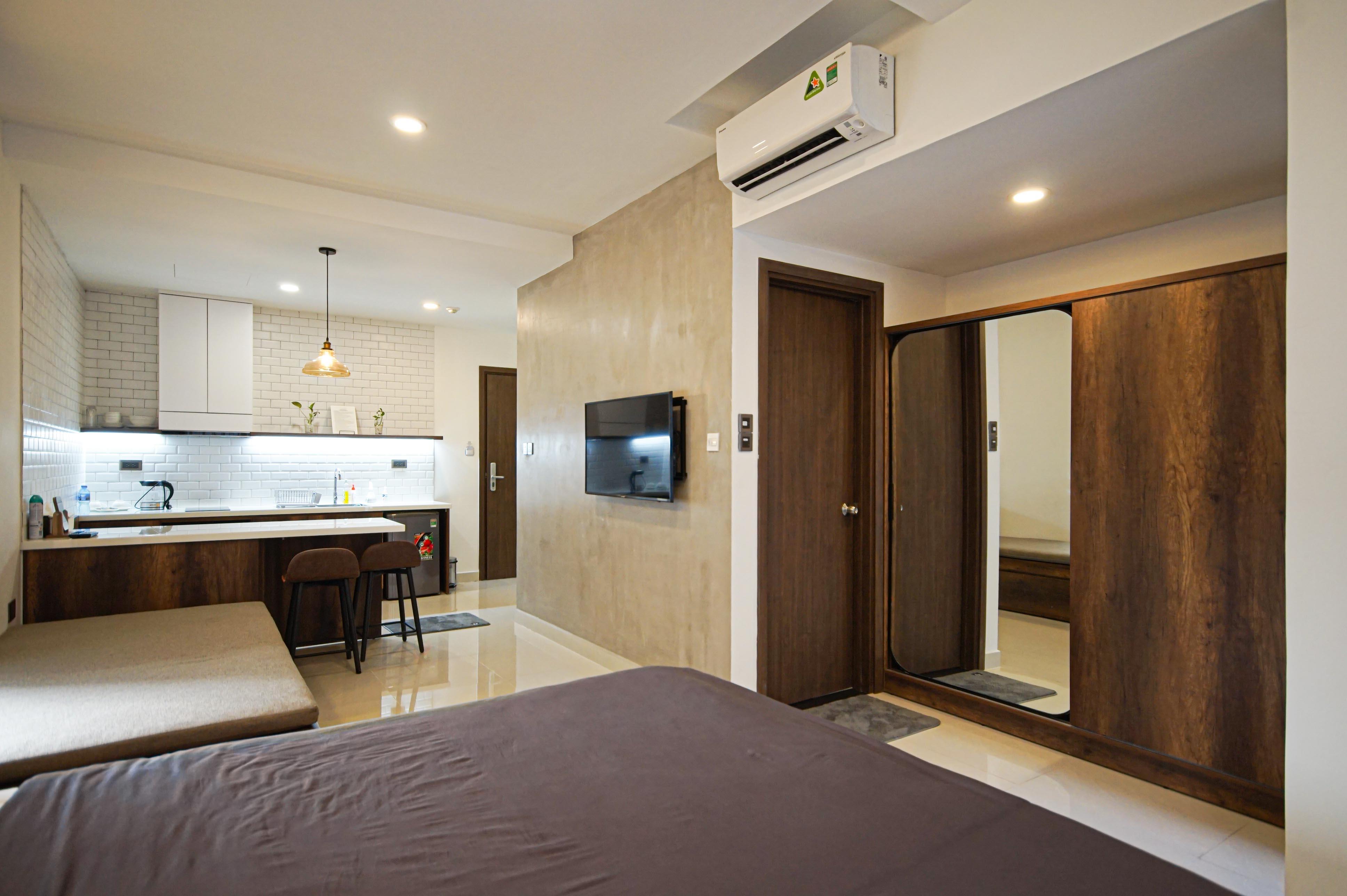 Cho Thuê Căn hộ 1 PN Saigon Royal Residence - Đầy Đủ Nội Thất & Đáng Yêu-6