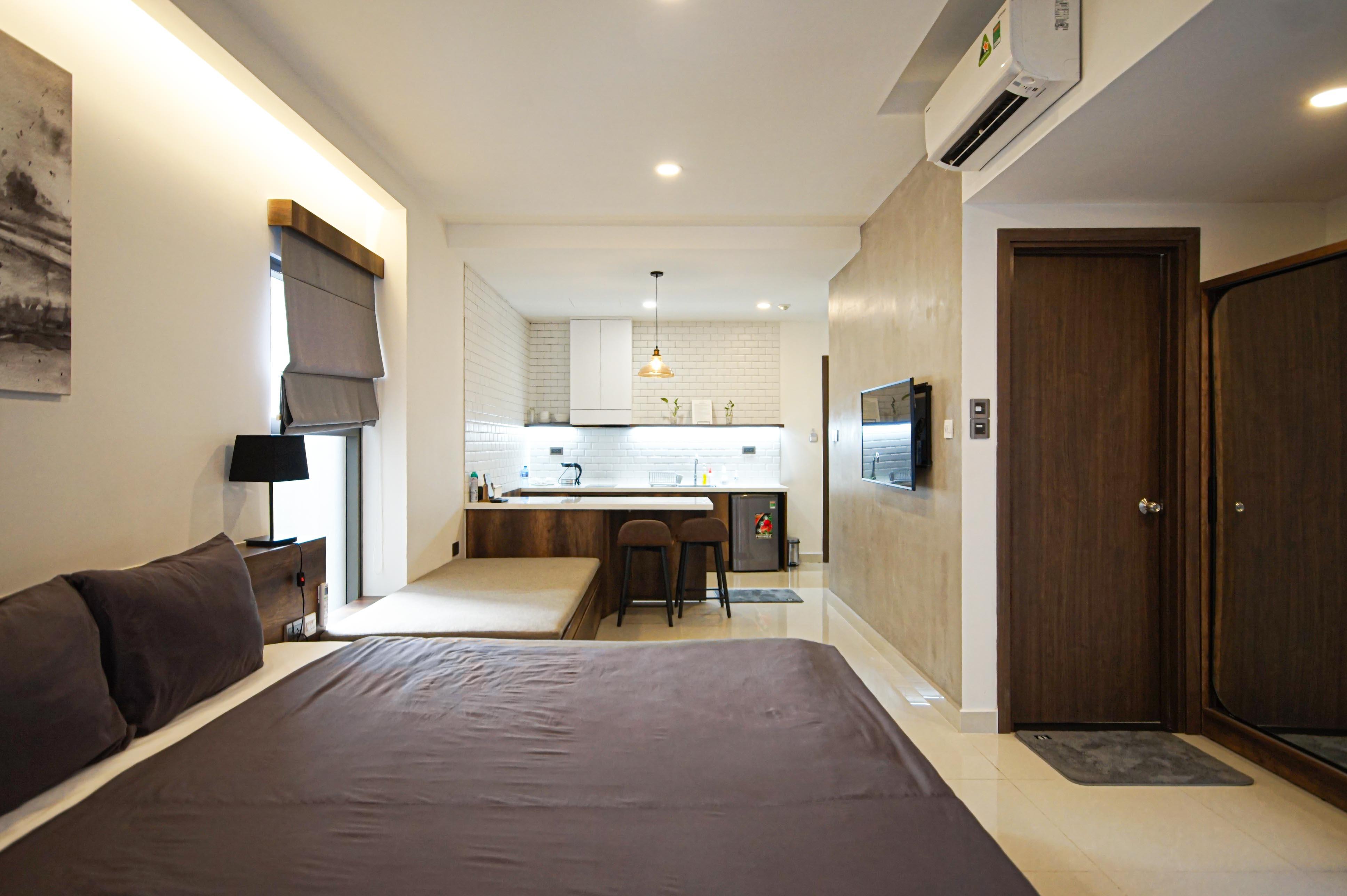Cho Thuê Căn hộ 1 PN Saigon Royal Residence - Đầy Đủ Nội Thất & Đáng Yêu-2