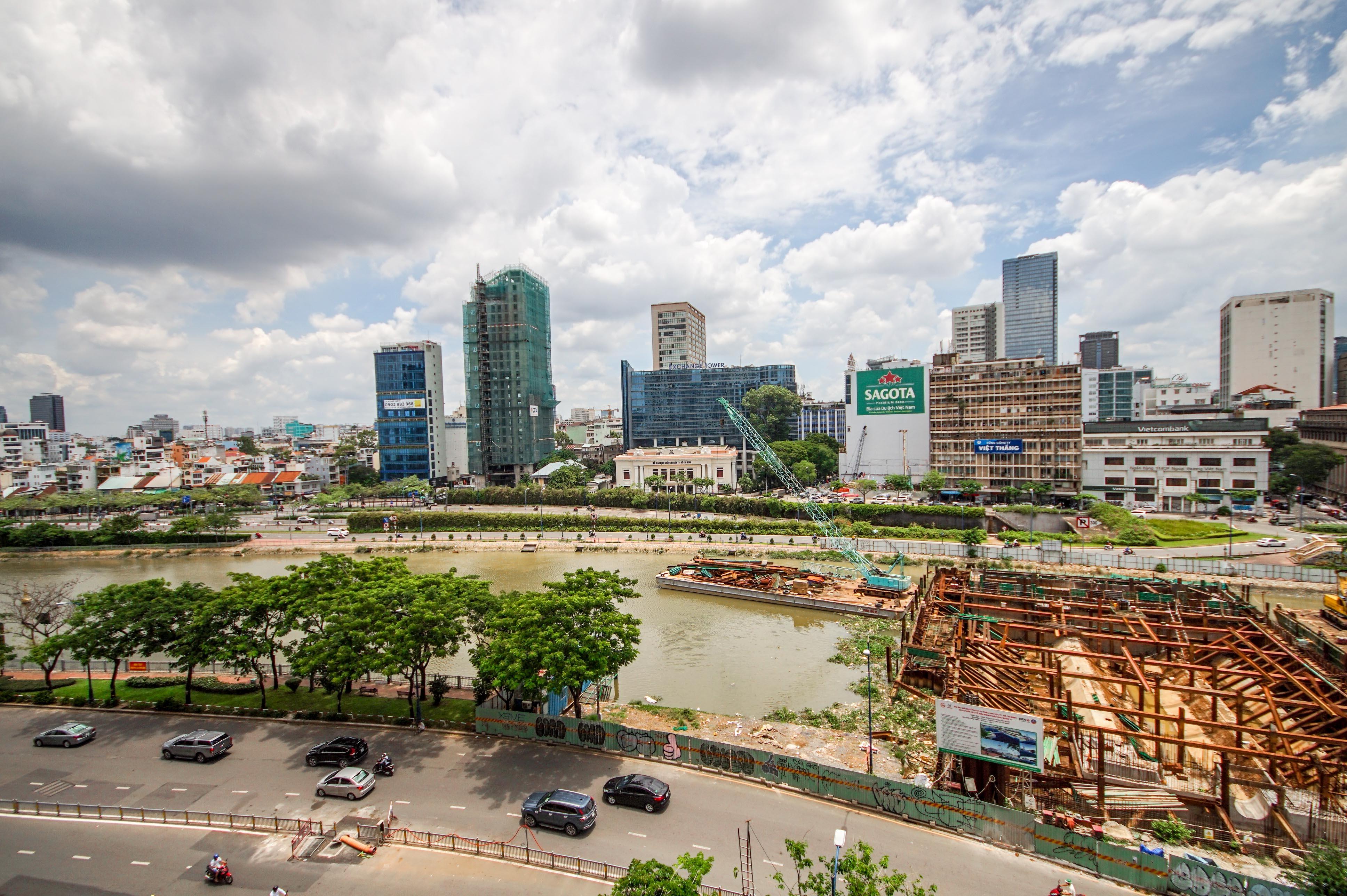 Căn hộ Office-tel 1 PN Saigon Royal Residence - Không Nội Thất & Tươi Sáng-8