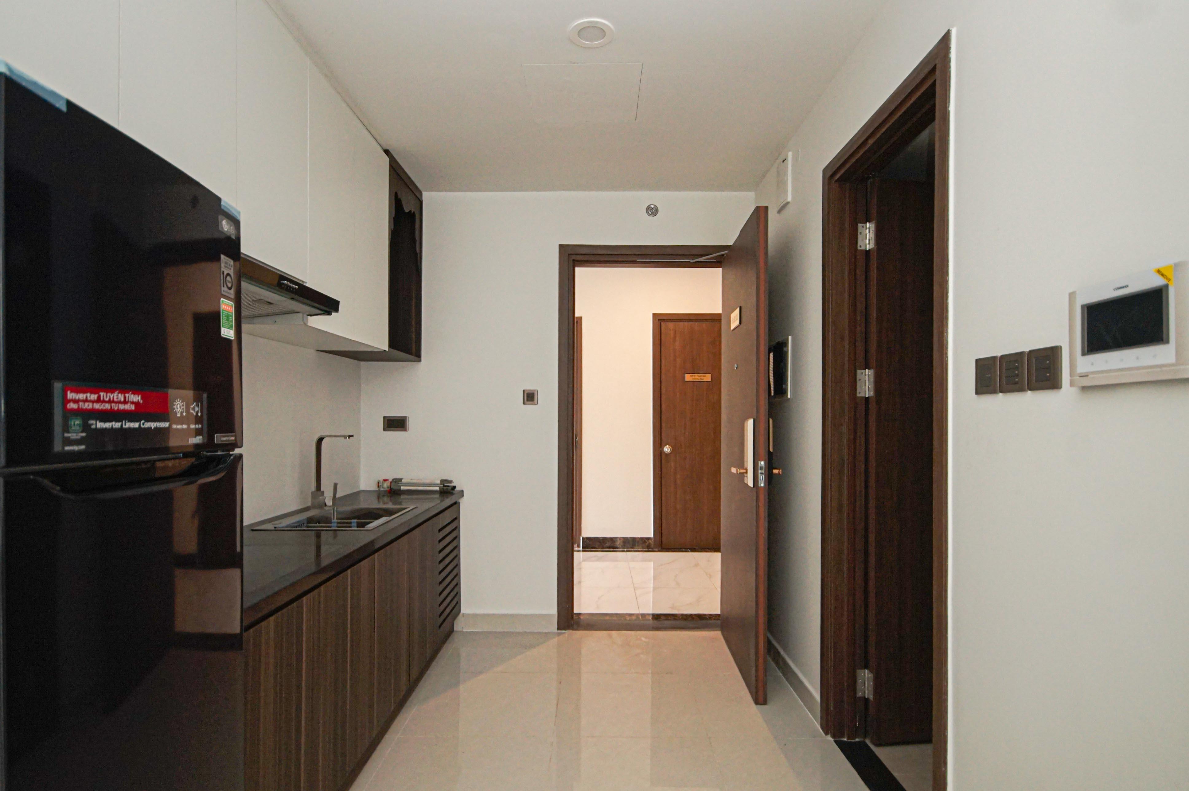 Cho Thuê Căn hộ Office-tel 1 PN Saigon Royal Residence - Nội Thất Cơ Bản & Ấm Cúng-3