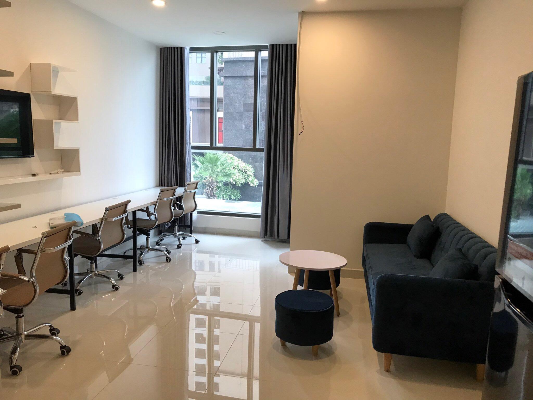 Cho Thuê Căn hộ Office-tel Saigon Royal Residence - Đầy Đủ Nội Thất & Thoáng Mát-0
