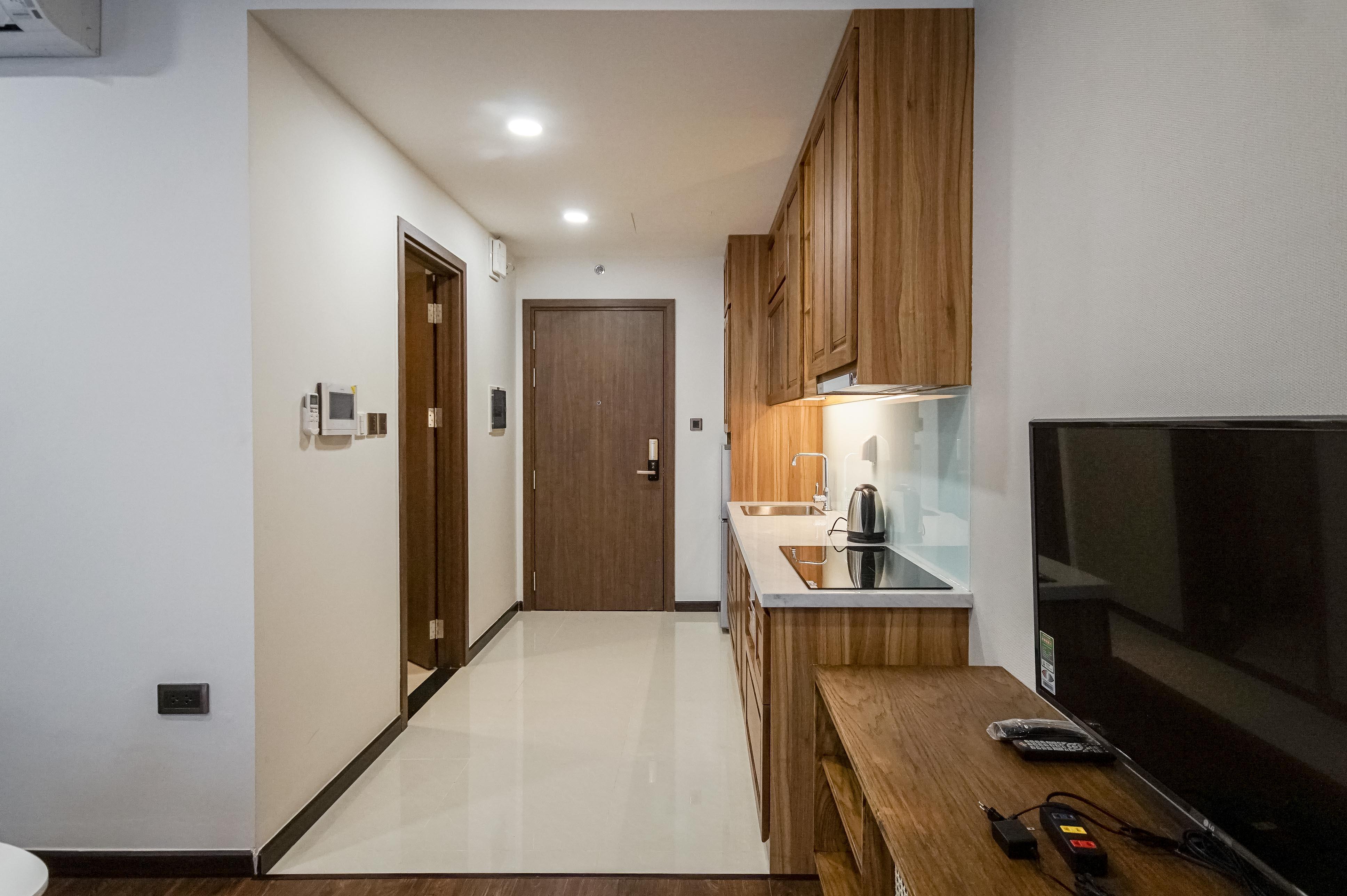 Căn hộ Studio Saigon Royal Residence - Đầy Đủ Nội Thất & Ấm Cúng-10