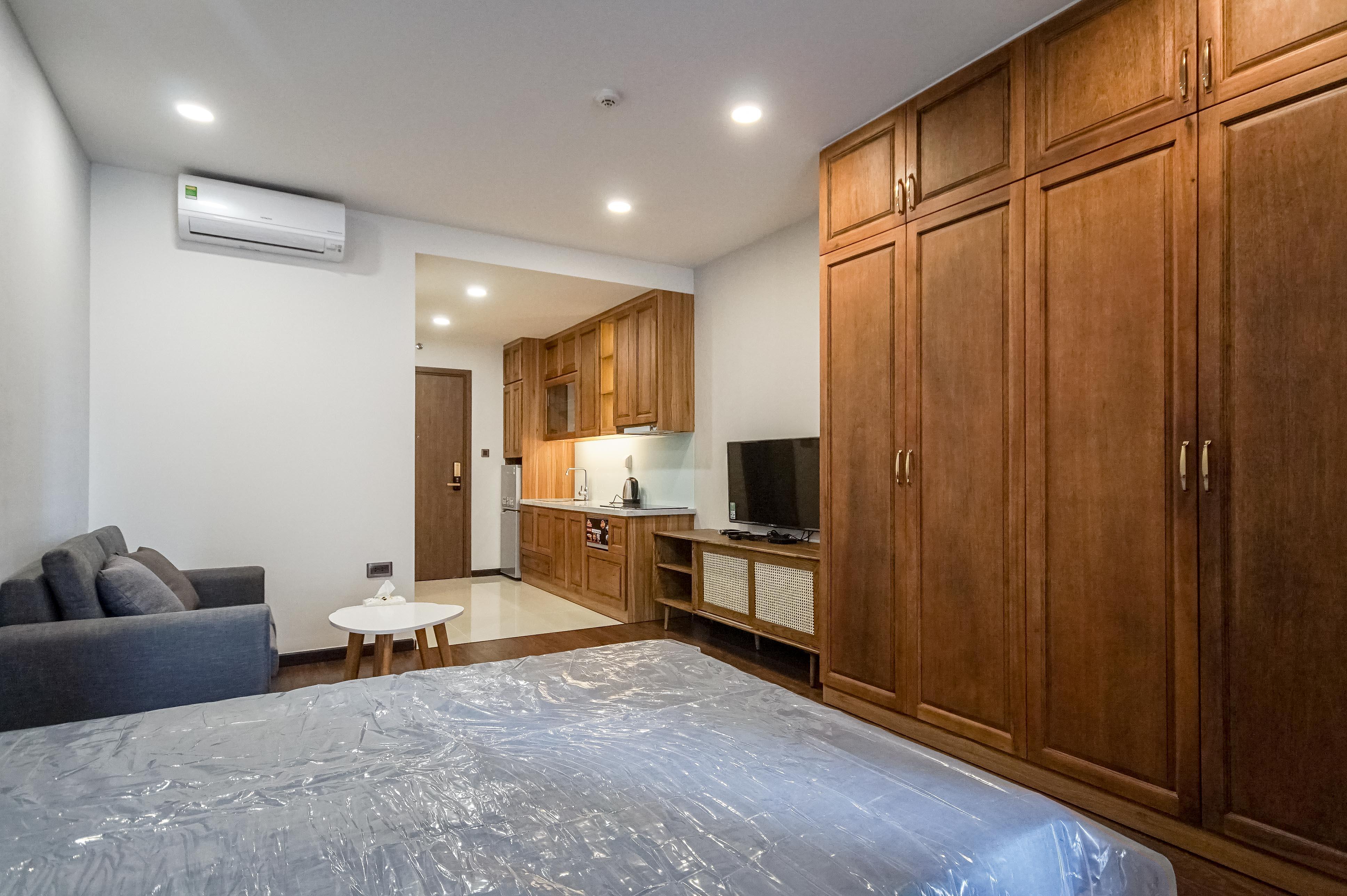 Căn hộ Studio Saigon Royal Residence - Đầy Đủ Nội Thất & Ấm Cúng-9