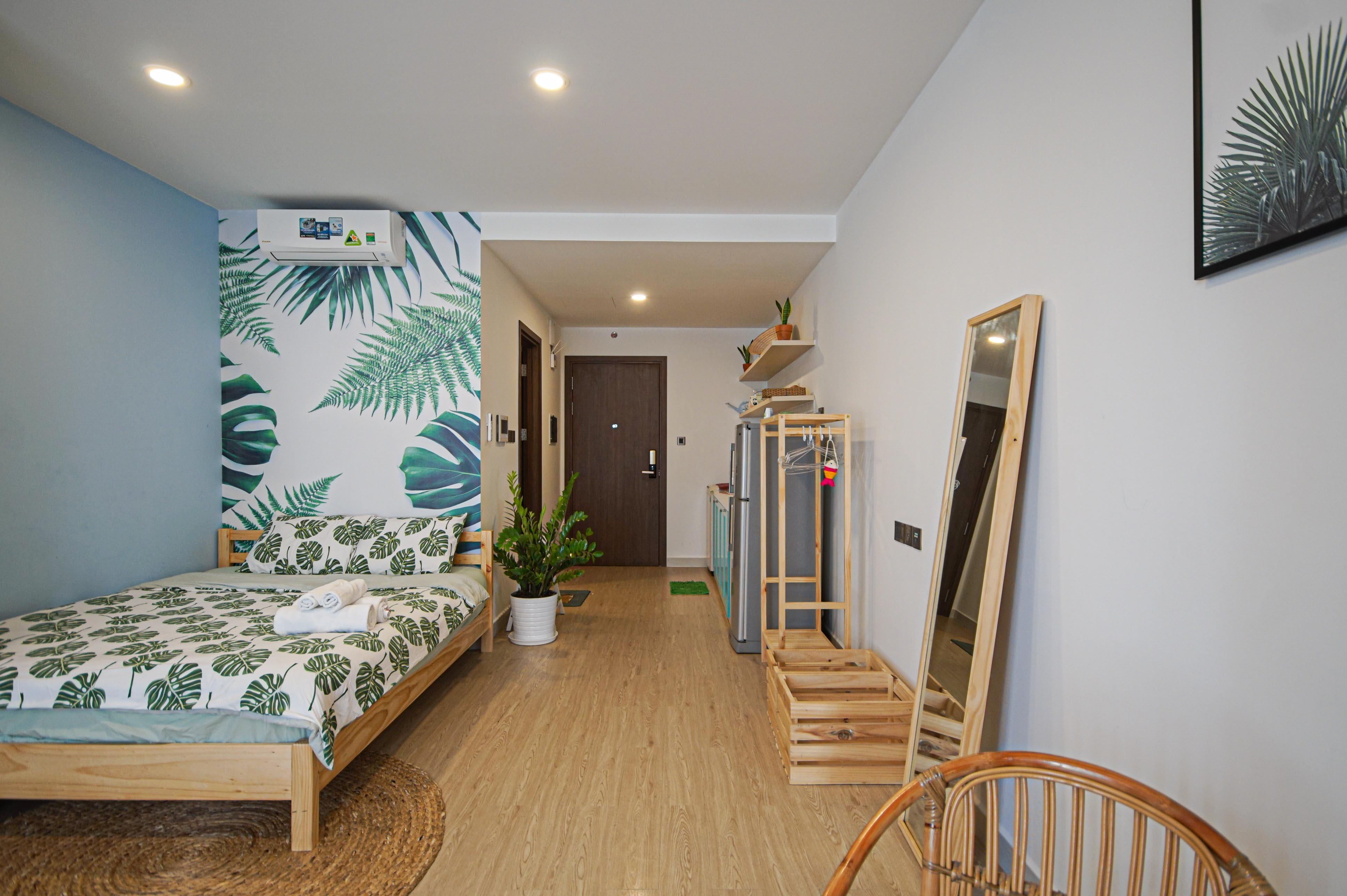 Cho Thuê Căn hộ Office-tel 1 PN Saigon Royal Residence - Đầy Đủ Nội Thất & Ấm Cúng-1