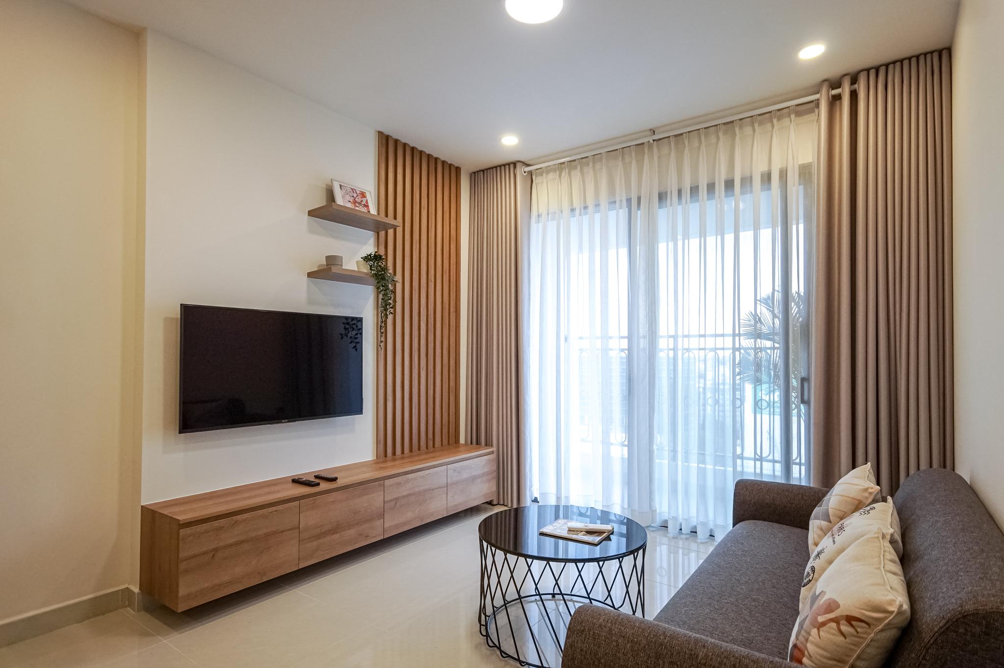 Căn hộ 2 PN Saigon Royal Residence - Đầy Đủ Nội Thất & Thanh Lịch-3