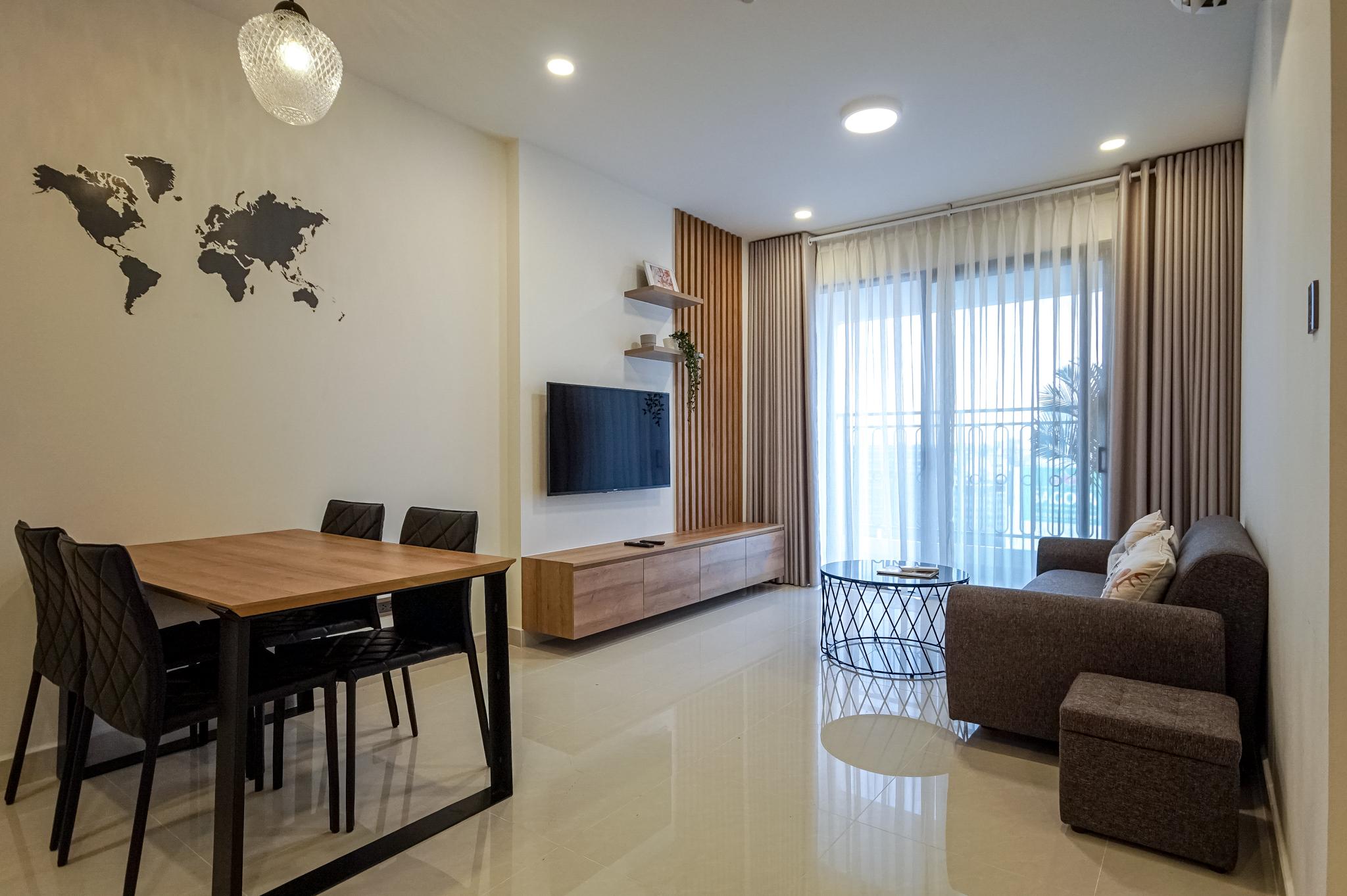 Căn hộ 2 PN Saigon Royal Residence - Đầy Đủ Nội Thất & Thanh Lịch-0