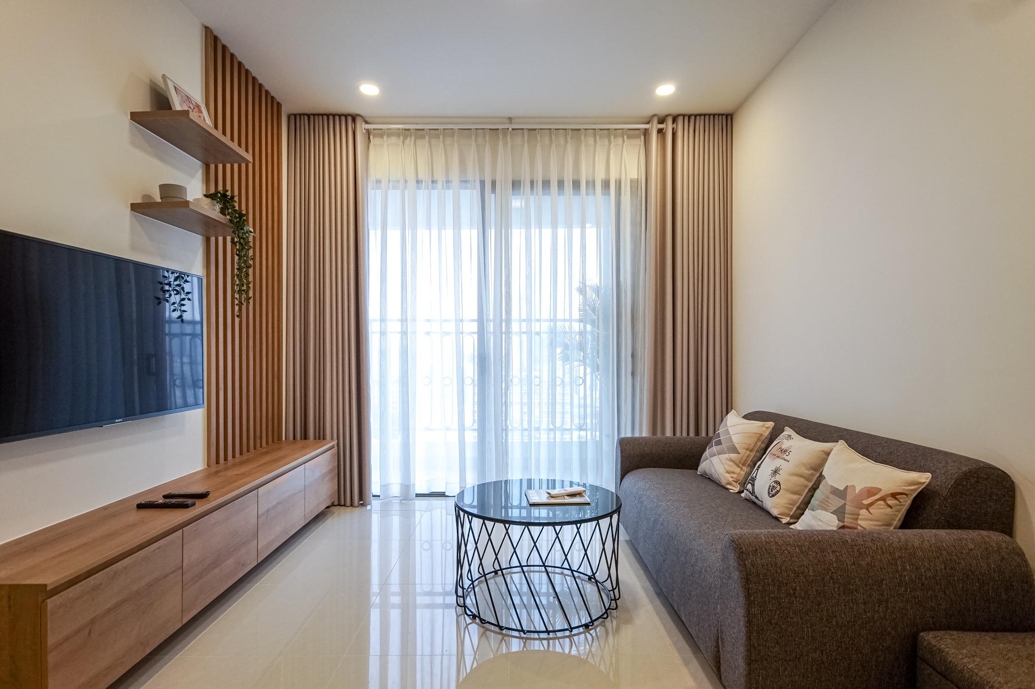 Căn hộ 2 PN Saigon Royal Residence - Đầy Đủ Nội Thất & Thanh Lịch-6