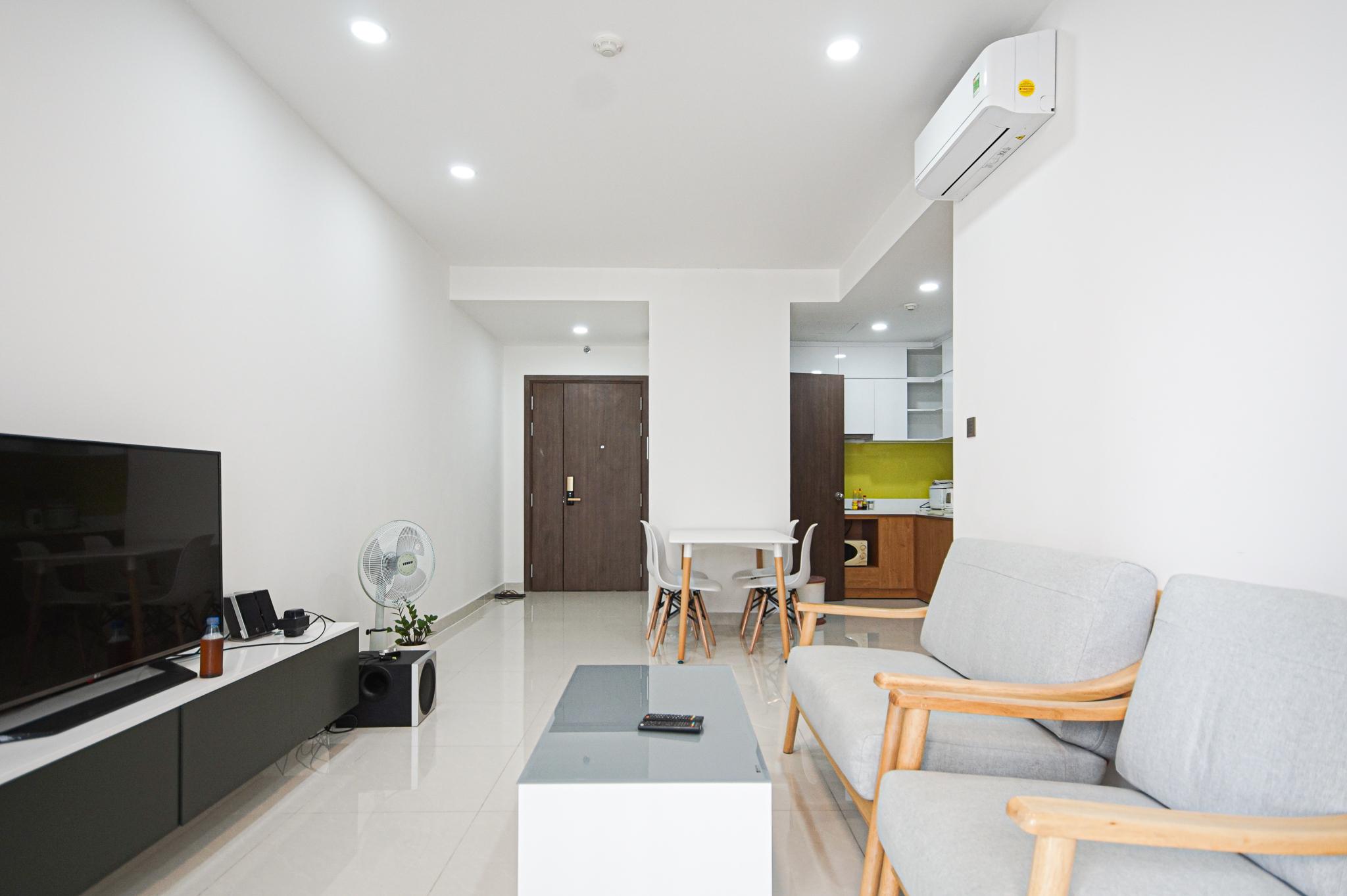 Cho Thuê Căn hộ 2 PN Saigon Royal Residence - Đầy Đủ Nội Thất & Thoáng Mát-3