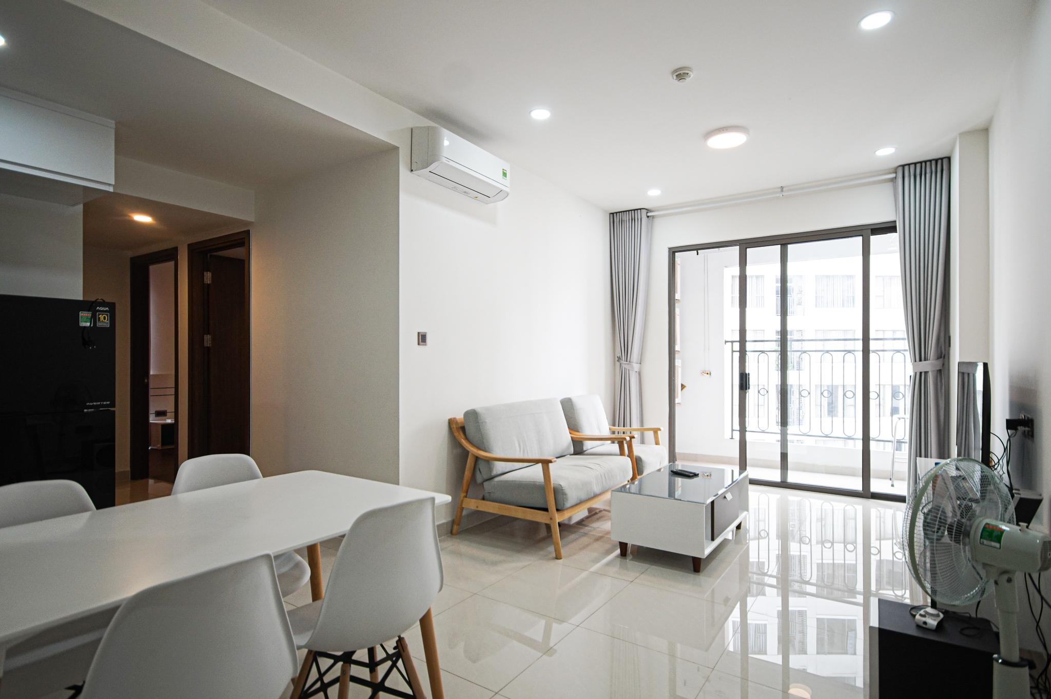 Cho Thuê Căn hộ 2 PN Saigon Royal Residence - Đầy Đủ Nội Thất & Thoáng Mát-8