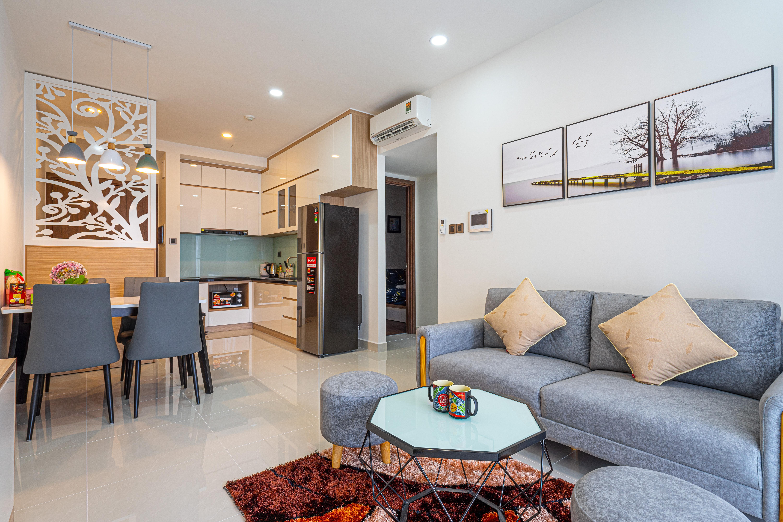 Cho Thuê Căn hộ 1 PN Saigon Royal Residence - Đầy Đủ Nội Thất & Rực Rỡ-8