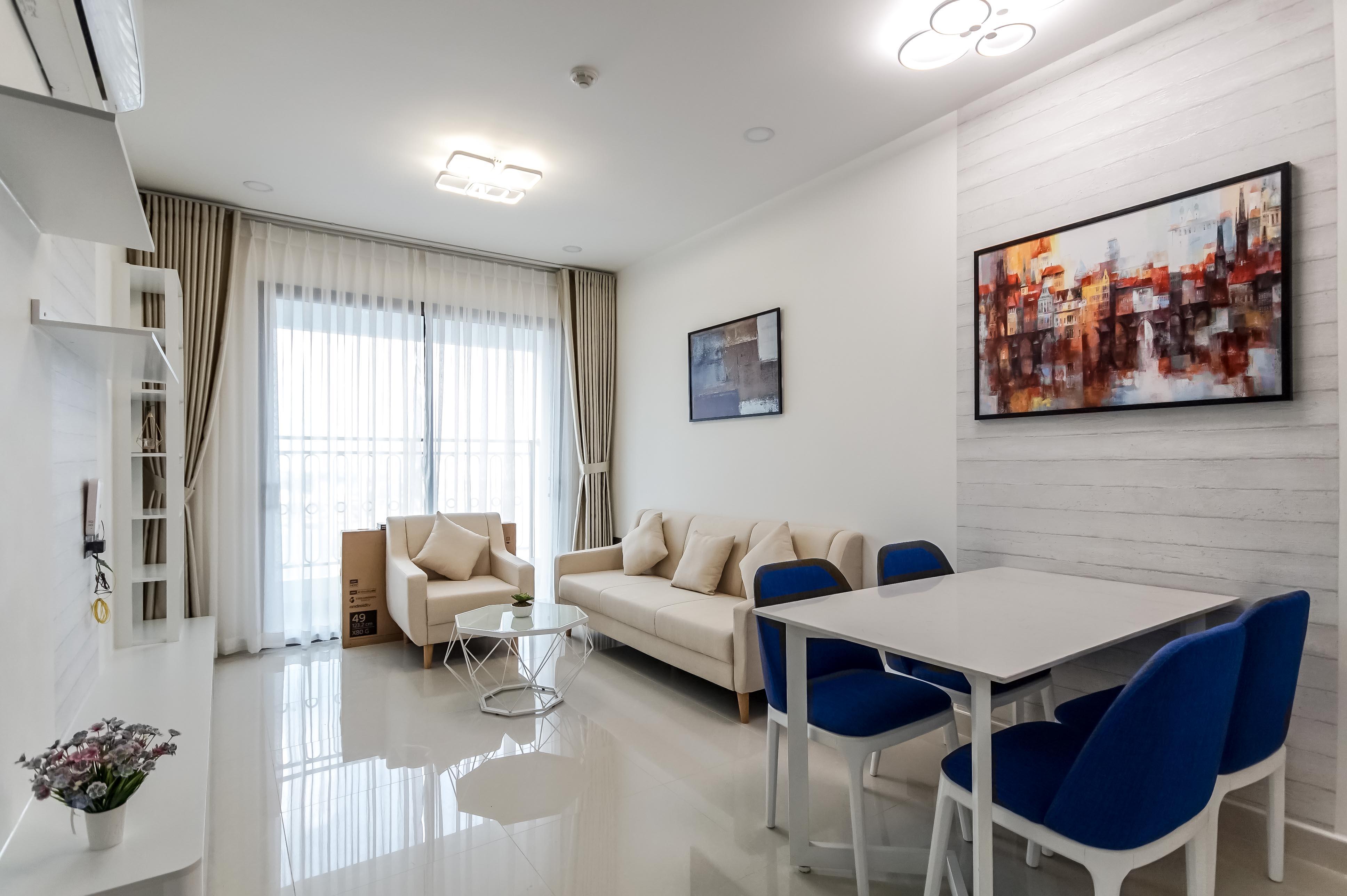 Căn hộ 2 PN Saigon Royal Residence - Đầy Đủ Nội Thất & Trang Nhã-6