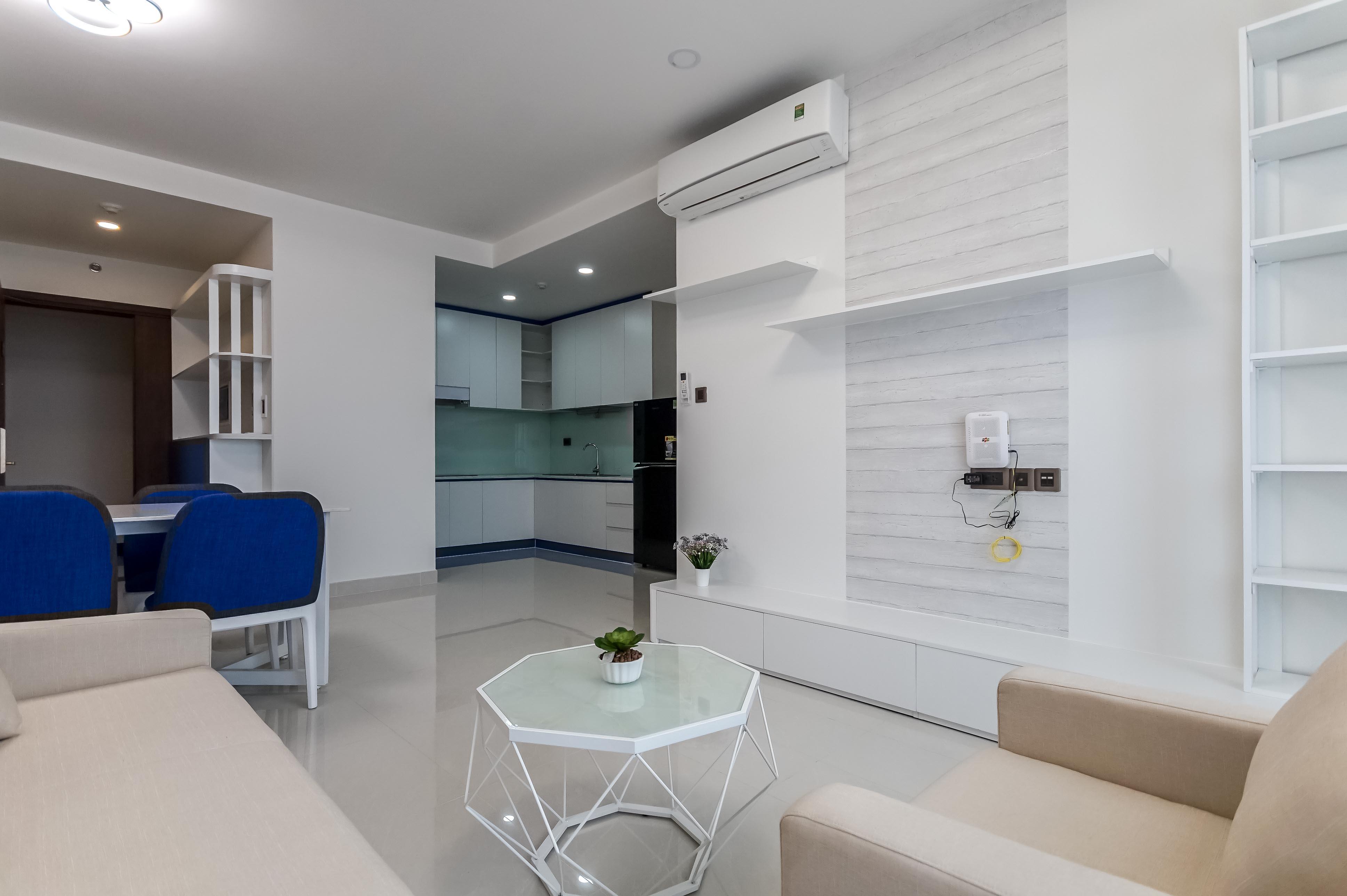 Căn hộ 2 PN Saigon Royal Residence - Đầy Đủ Nội Thất & Trang Nhã-9