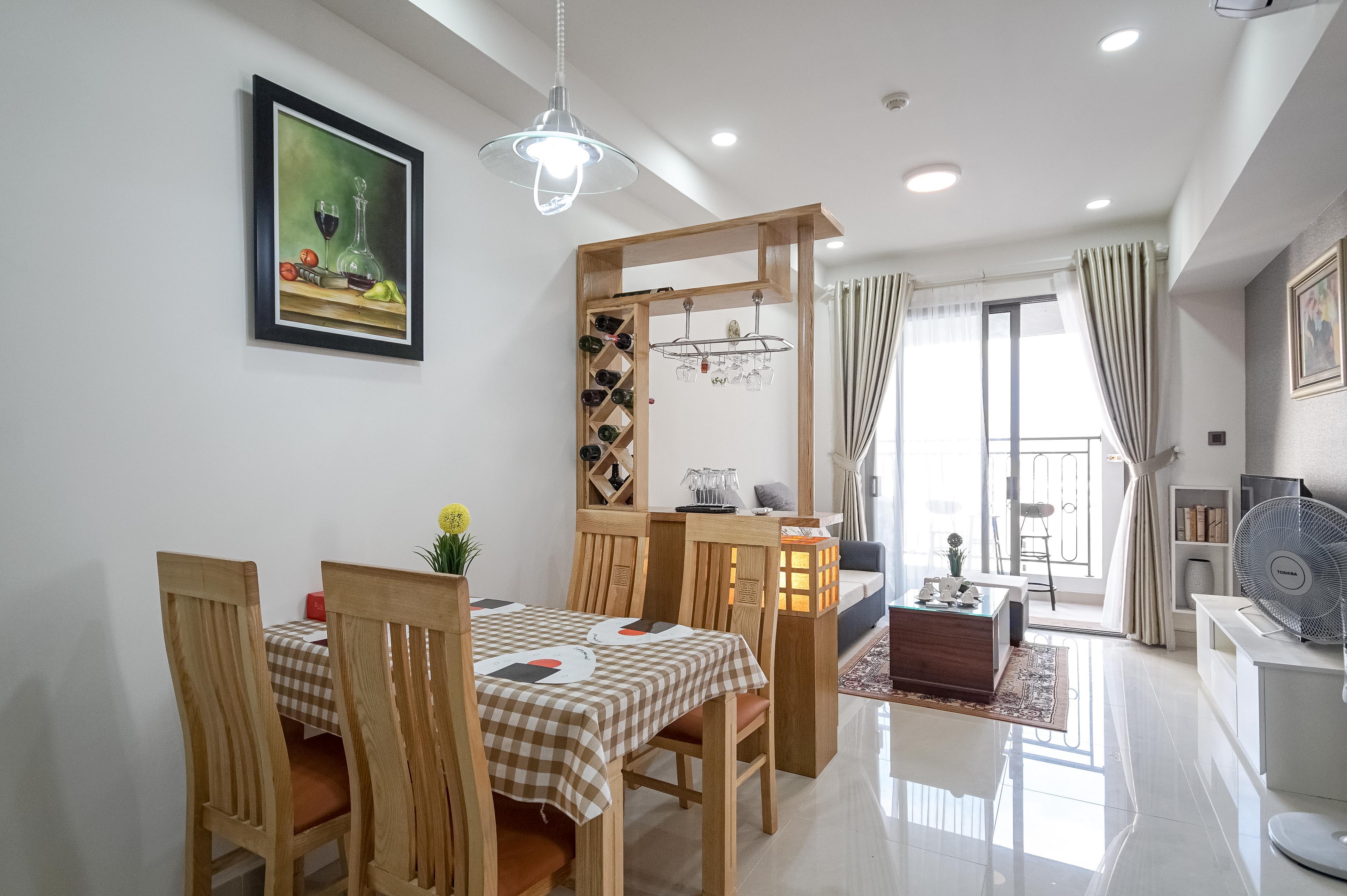 Căn hộ 1 PN Saigon Royal Residence - Đầy Đủ Nội Thất & Ấm Cúng-0