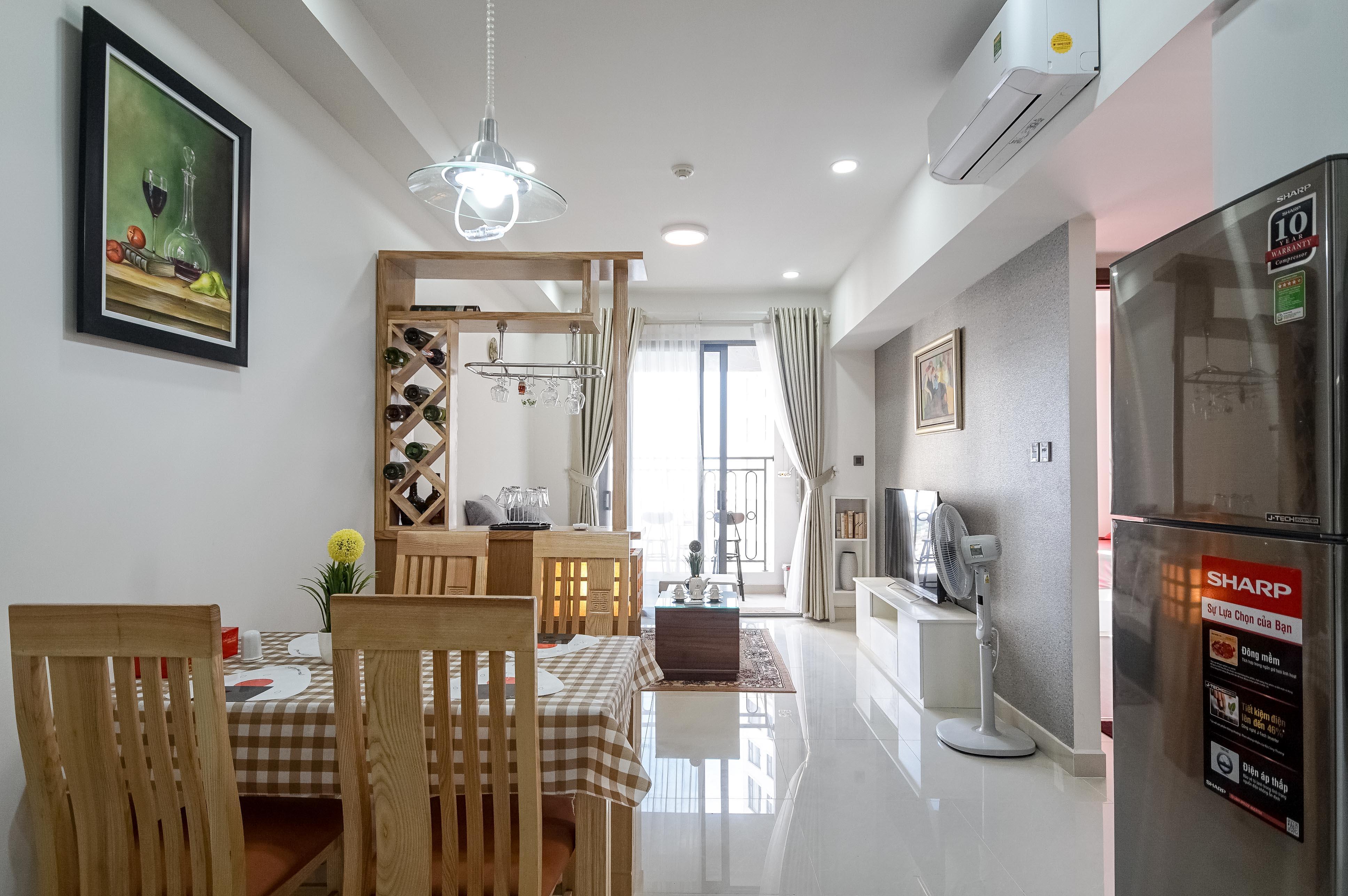 Căn hộ 1 PN Saigon Royal Residence - Đầy Đủ Nội Thất & Ấm Cúng-3