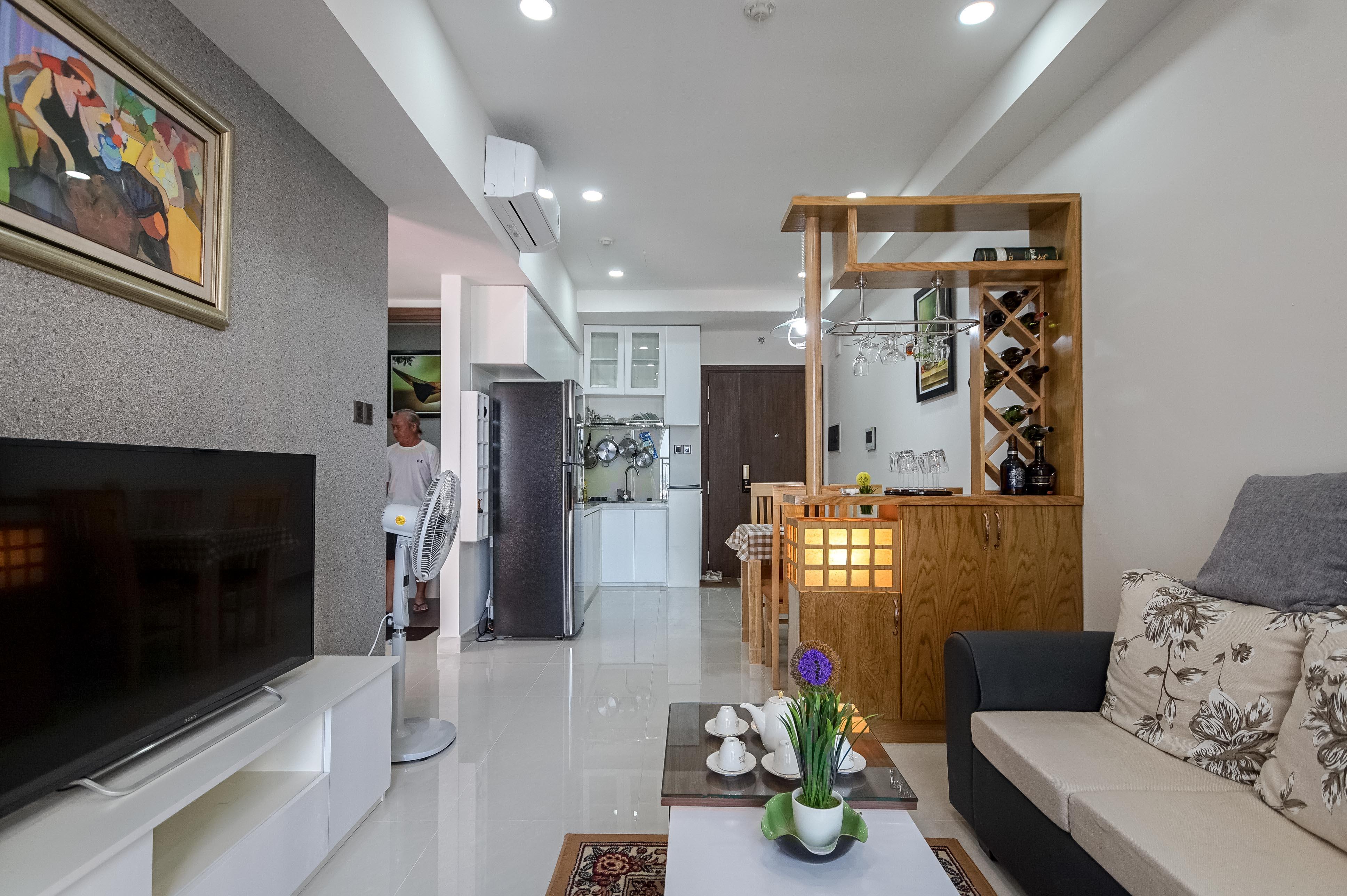 Căn hộ 1 PN Saigon Royal Residence - Đầy Đủ Nội Thất & Ấm Cúng-6