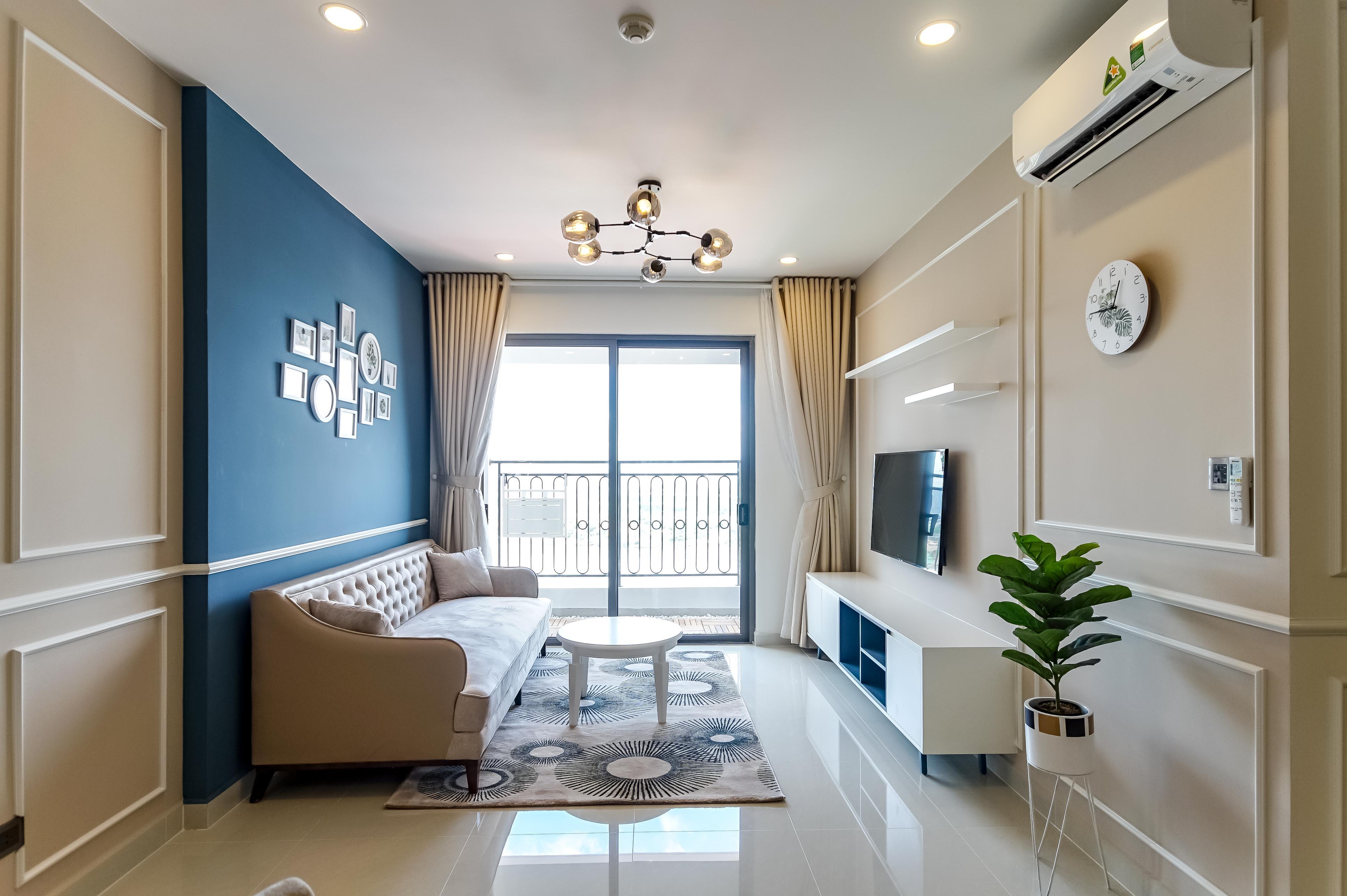 Căn hộ 2 PN Saigon Royal Residence - Đầy Đủ Nội Thất & Rực Rỡ-4