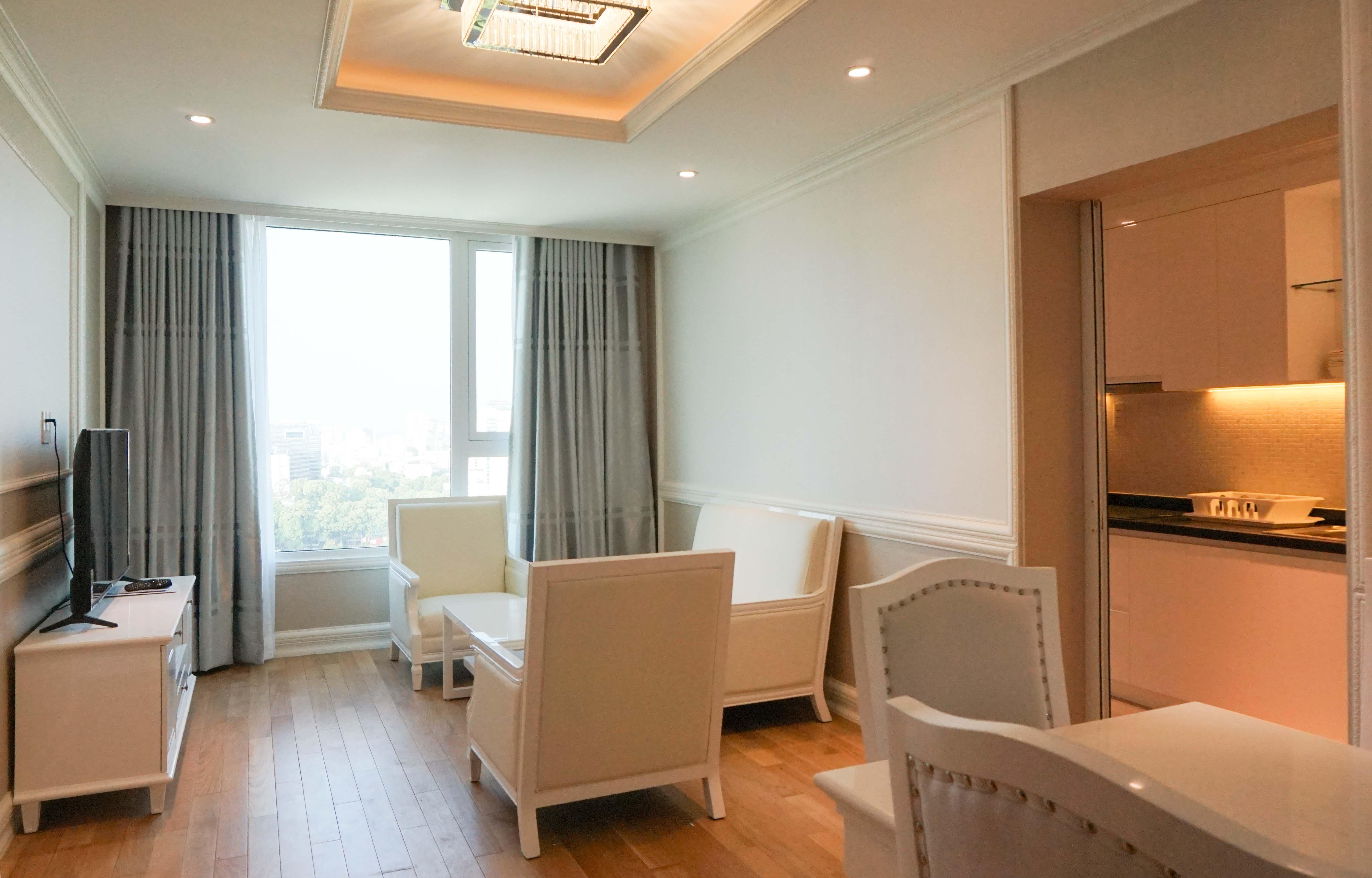 Căn hộ 2 PN Léman Luxury - Đầy Đủ Nội Thất - Căn Hộ Duyên Dáng Và Sang Trọng-14
