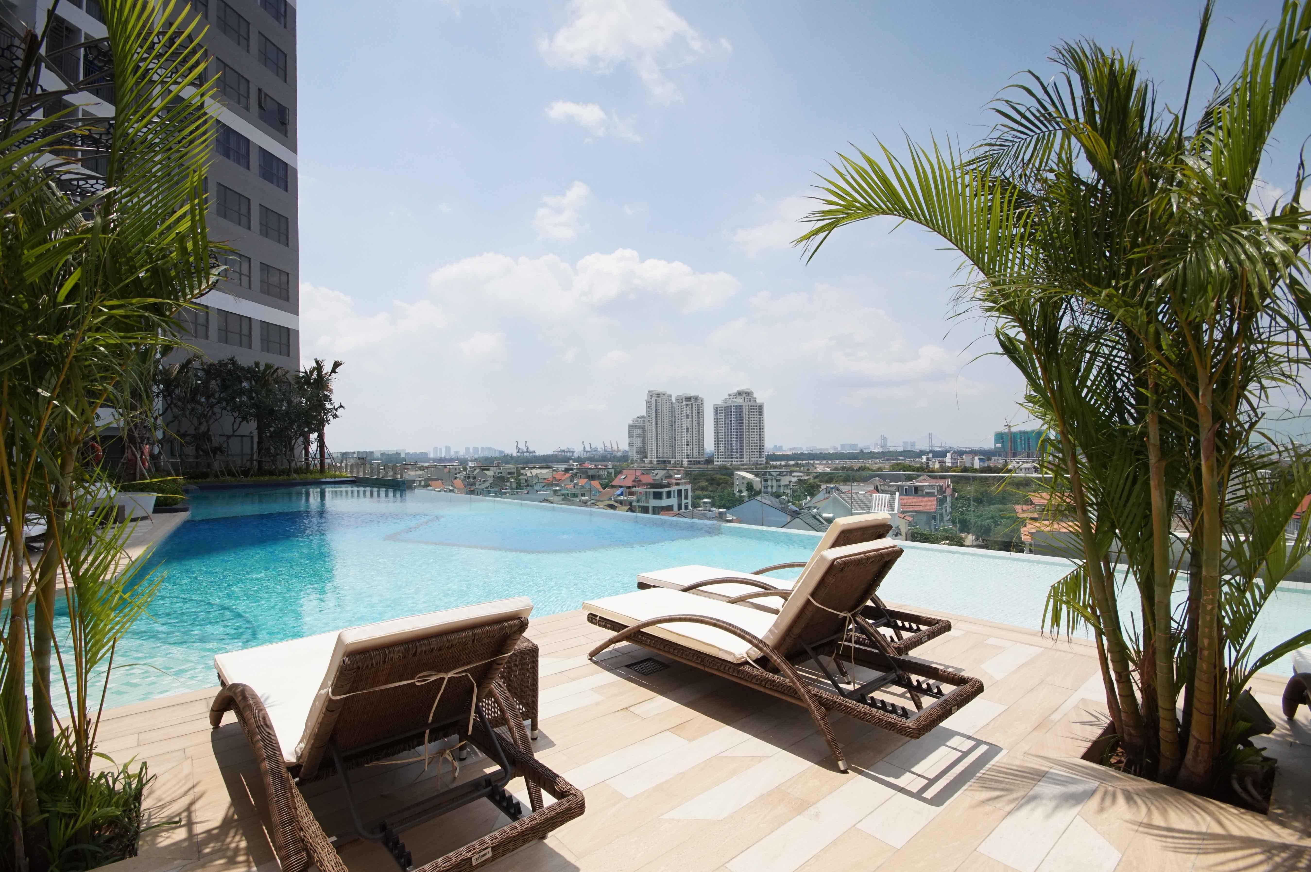 Căn hộ 1 PN Sun Avenue - Không Nội Thất & Rộng Rãi-3