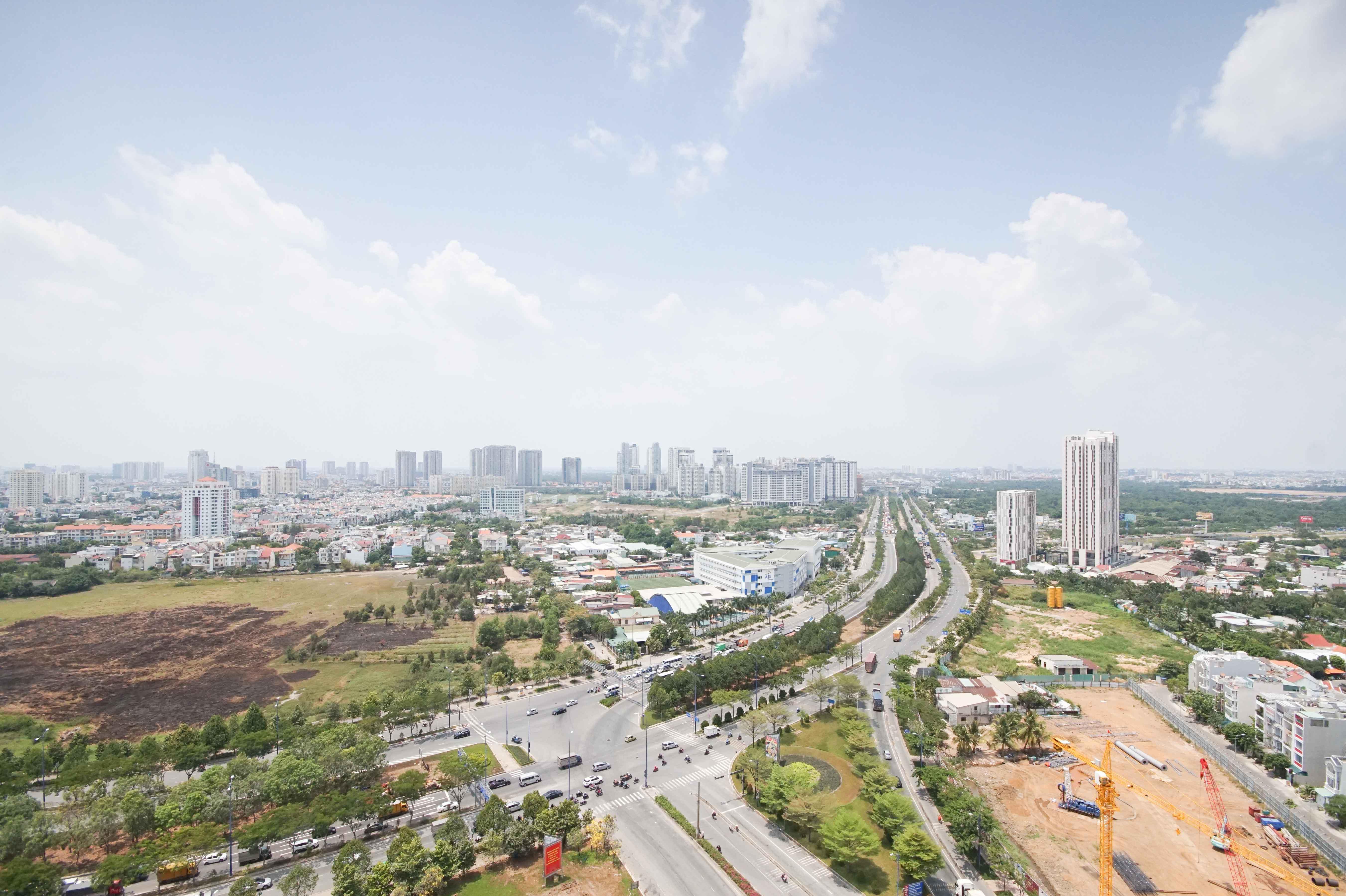 Căn hộ 1 PN Sun Avenue - Không Nội Thất & Rộng Rãi-2