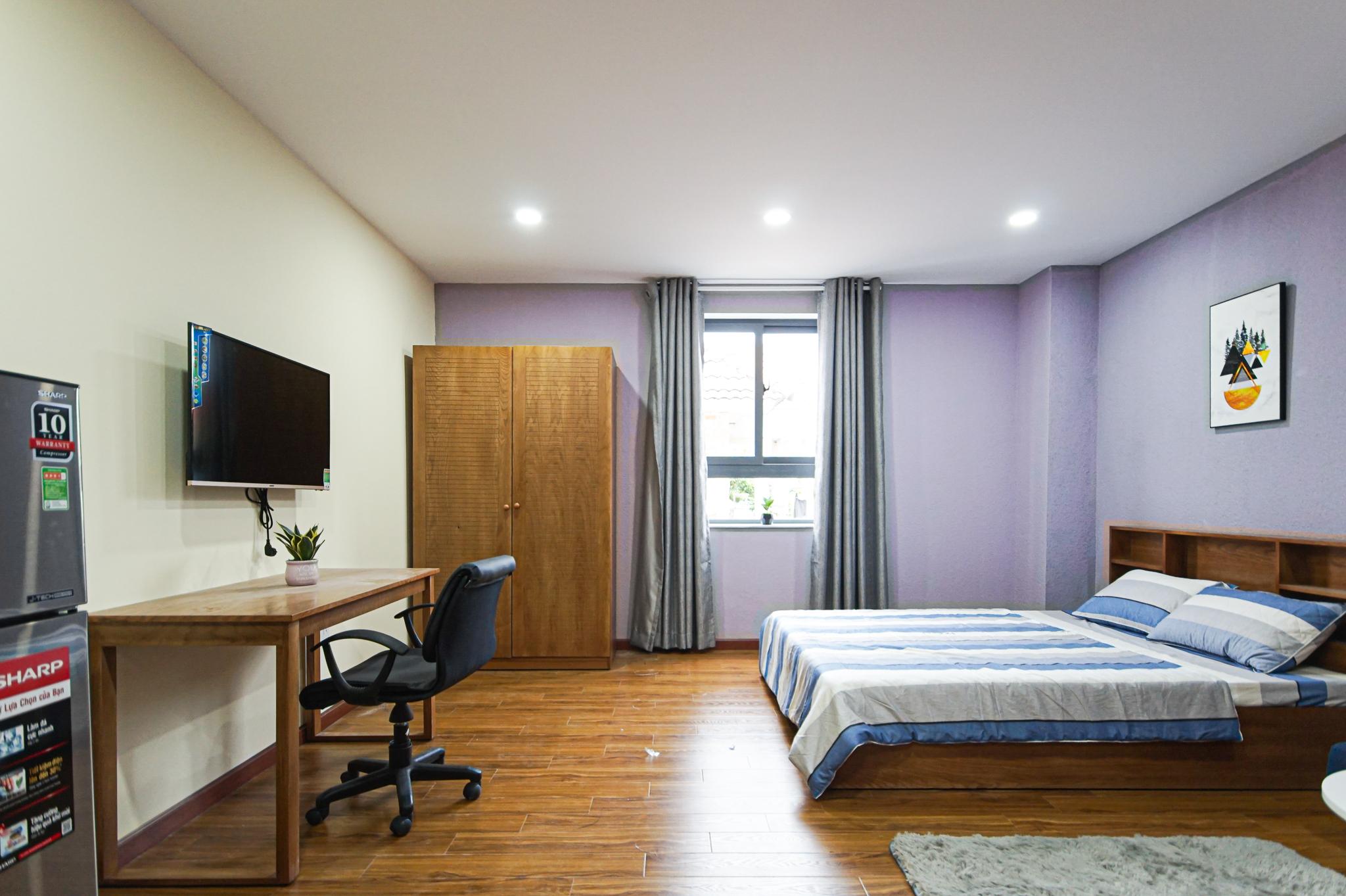 Cho Thuê Duplex 1 PN Nam Thong Serviced Apartment - Đầy Đủ Nội Thất & Ấm Cúng-0