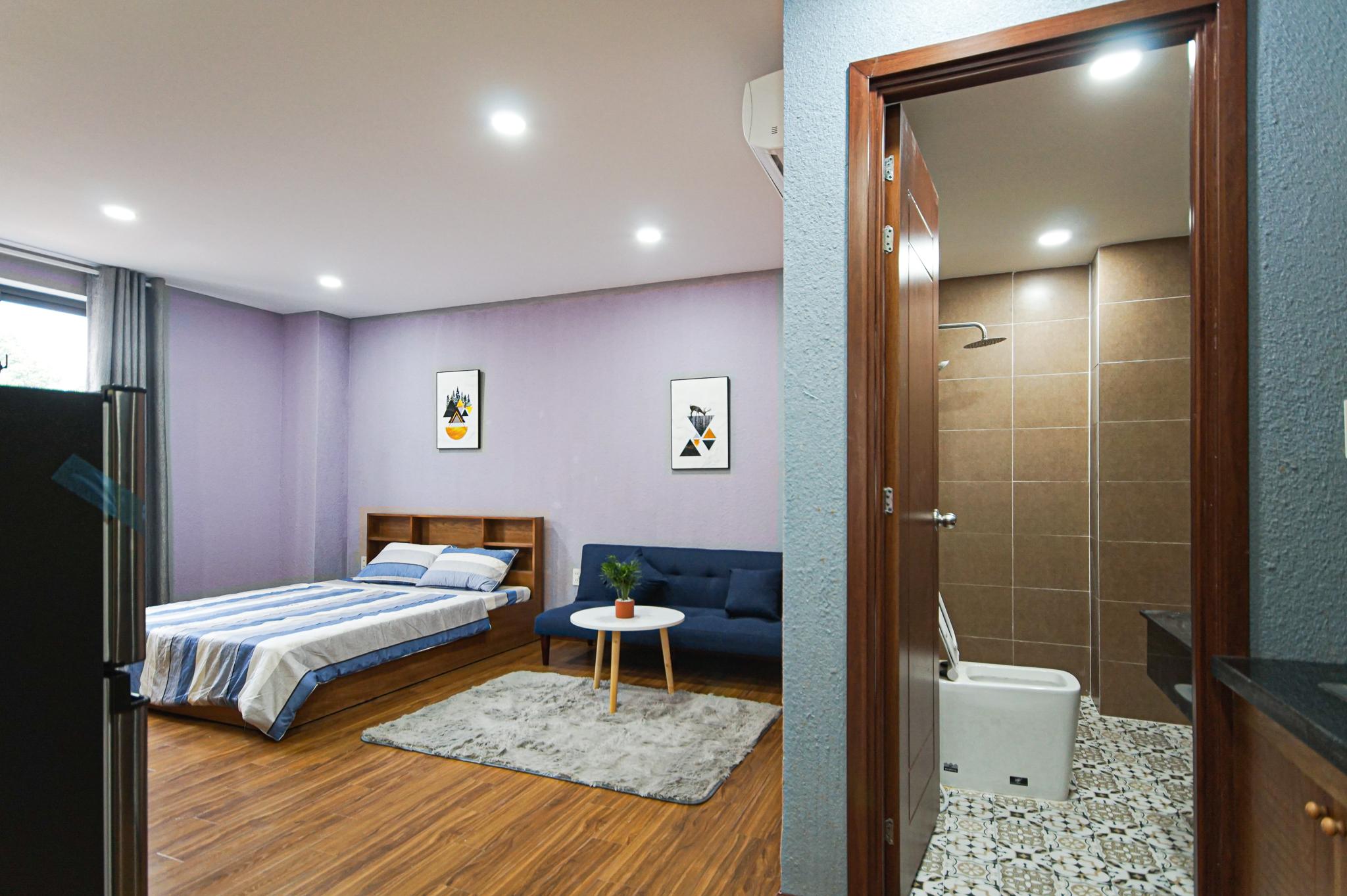 Cho Thuê Duplex 1 PN Nam Thong Serviced Apartment - Đầy Đủ Nội Thất & Ấm Cúng-1