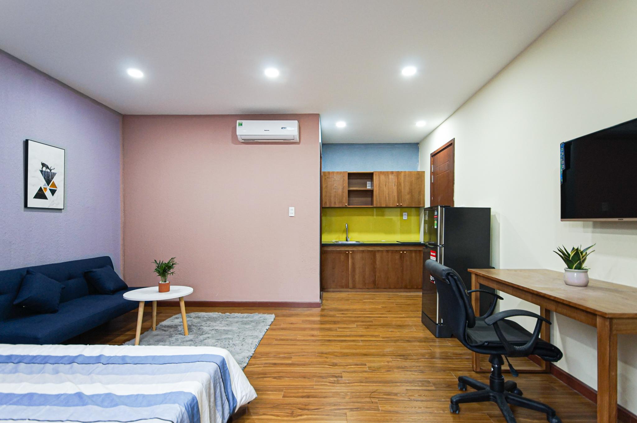 Cho Thuê Duplex 1 PN Nam Thong Serviced Apartment - Đầy Đủ Nội Thất & Ấm Cúng-7