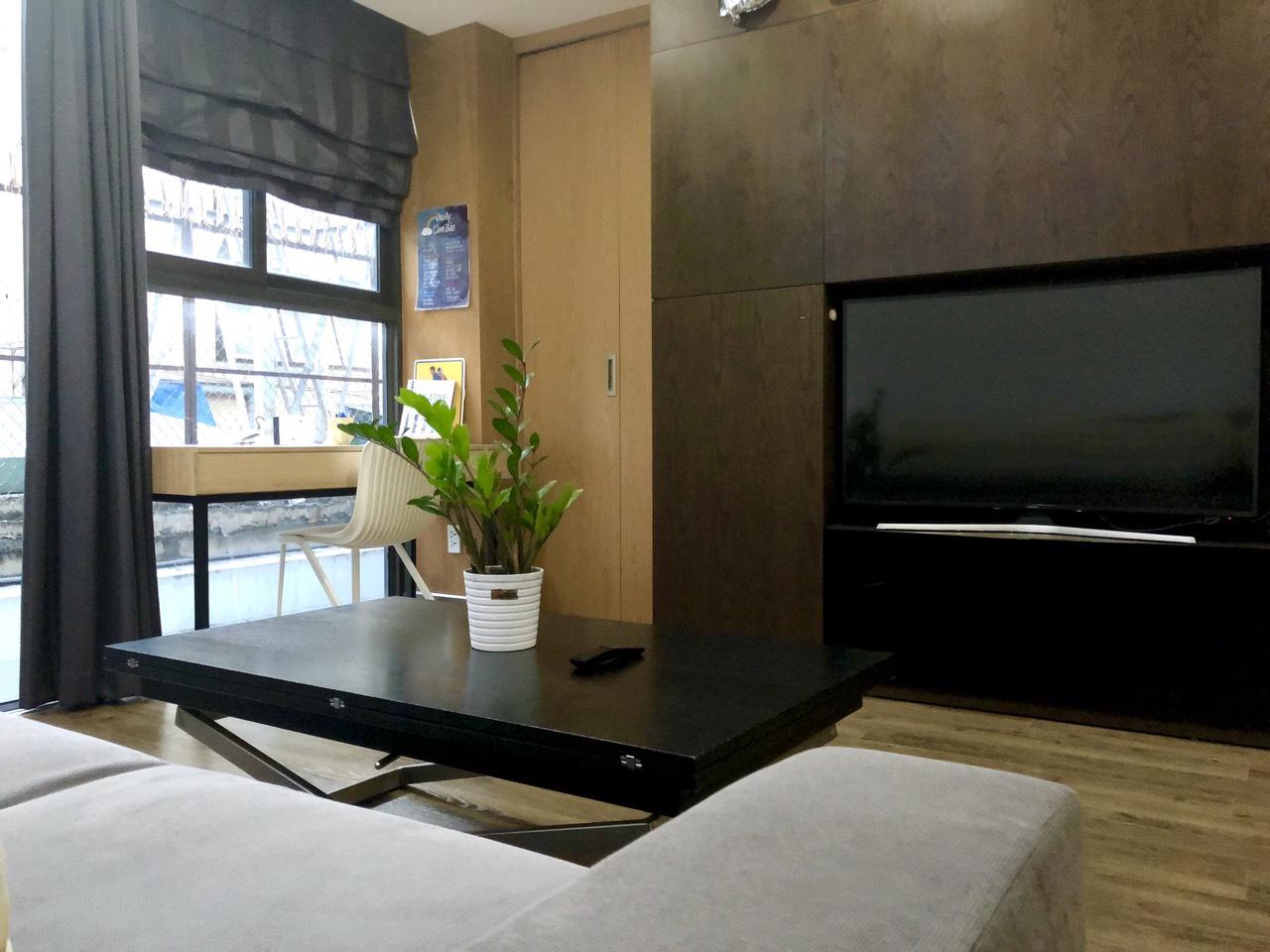 Cho Thuê 1 PN Nguyen Thi Minh Khai D1 Serviced Apartment - Đầy Đủ Nội Thất & Ấm Cúng -4