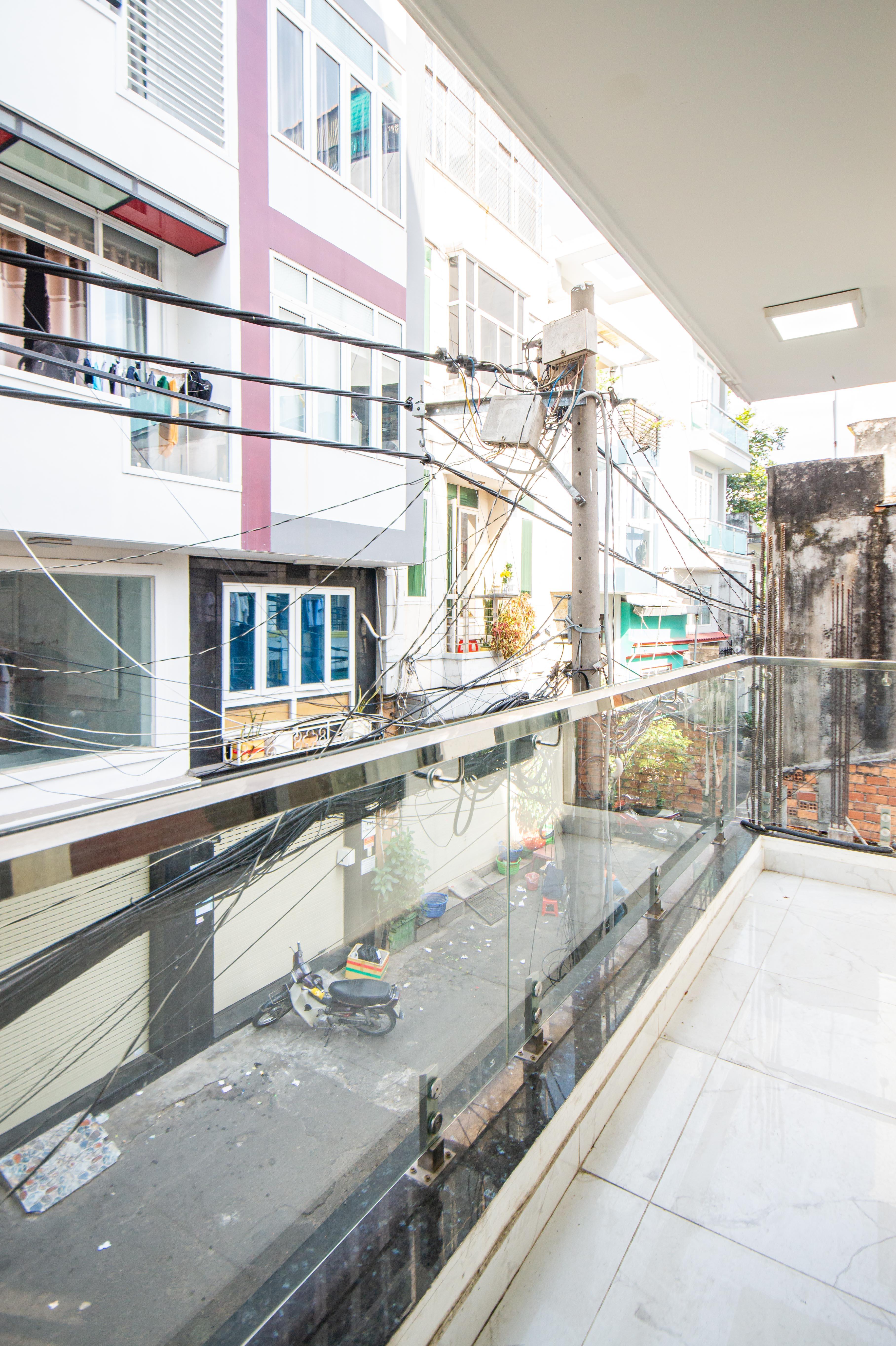 Cho Thuê Căn hộ 1 PN Trần Văn Đang Apartment - Ban Công Rộng Rãi -6