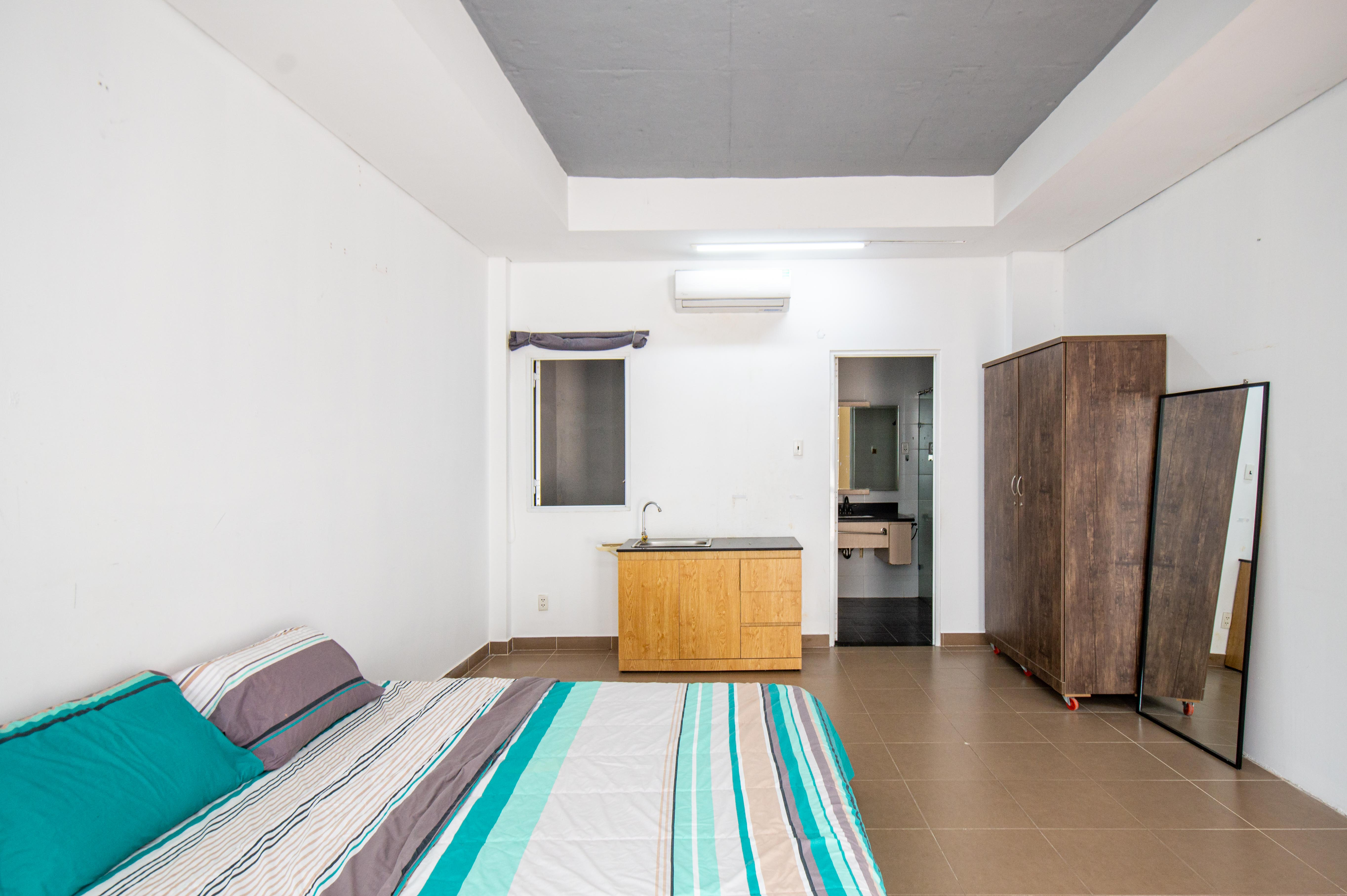 Cho Thuê Căn hộ 1 PN Lê Văn Sỹ Apartment - Có Bồn Tắm -4