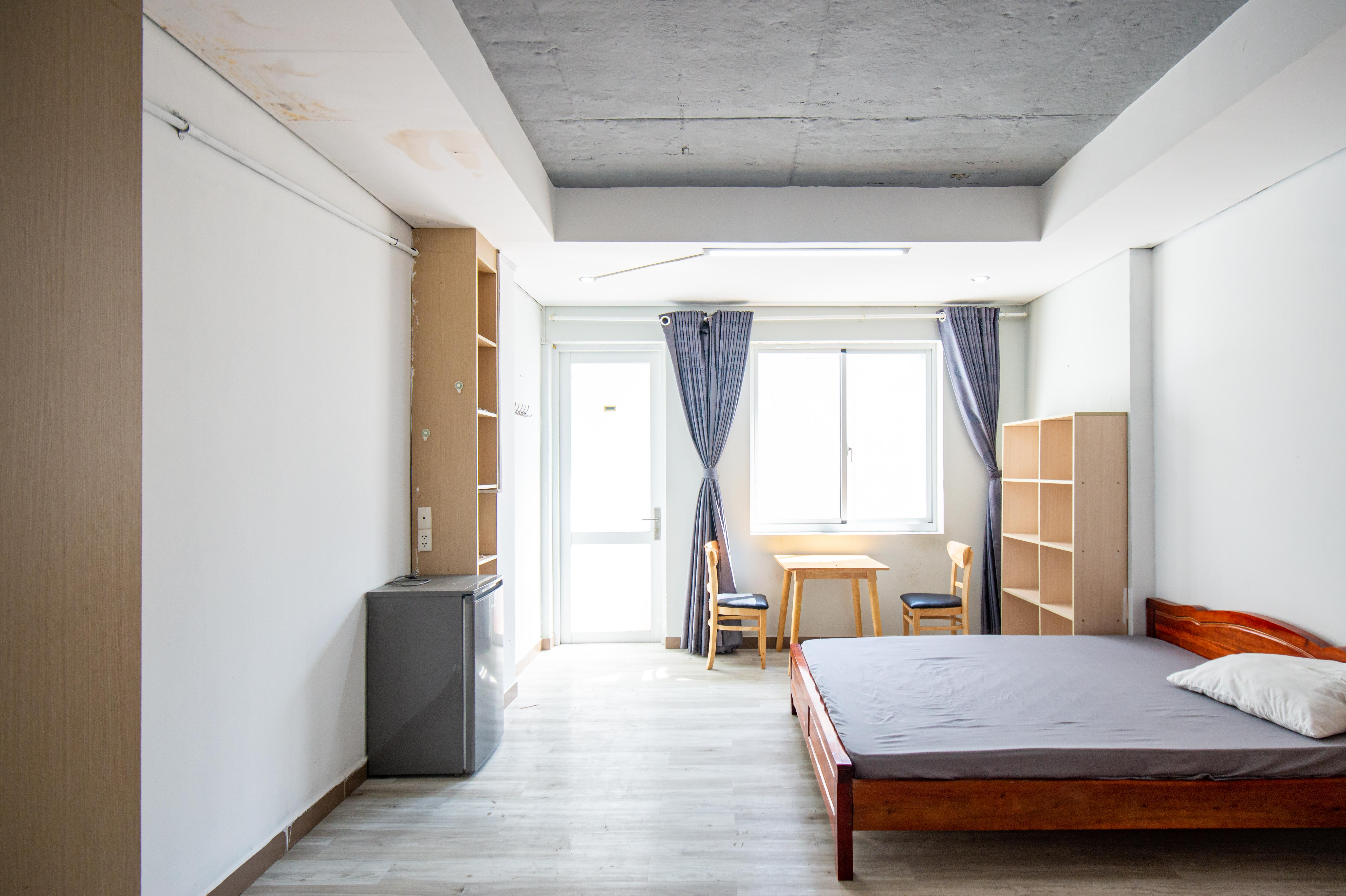 Cho Thuê Căn hộ 1 PN Lê Văn Sỹ Apartment - Nội Thất Trag Nhã -3