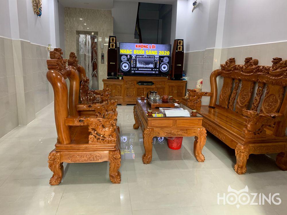 Bán Nhà Hẻm Xe Hơi Đường Số 4 Quận Bình Tân - Nội Thất Gỗ Cao Cấp