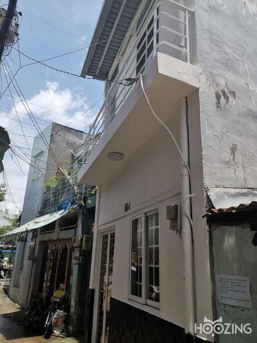 Bán Nhà Hẻm Xe Hơi Đường Phan Văn Trị Quận Bình Thạnh