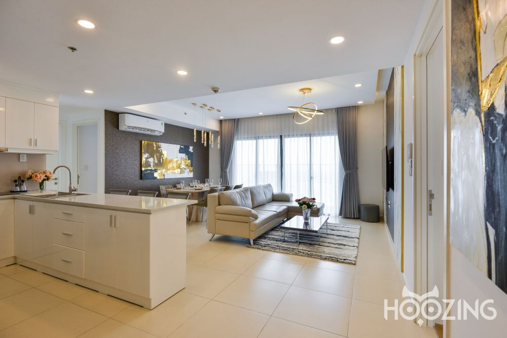 Masteri Thao Dien Office-tel Apartment 3 Bedrooms - Fully Furnished & Spacious